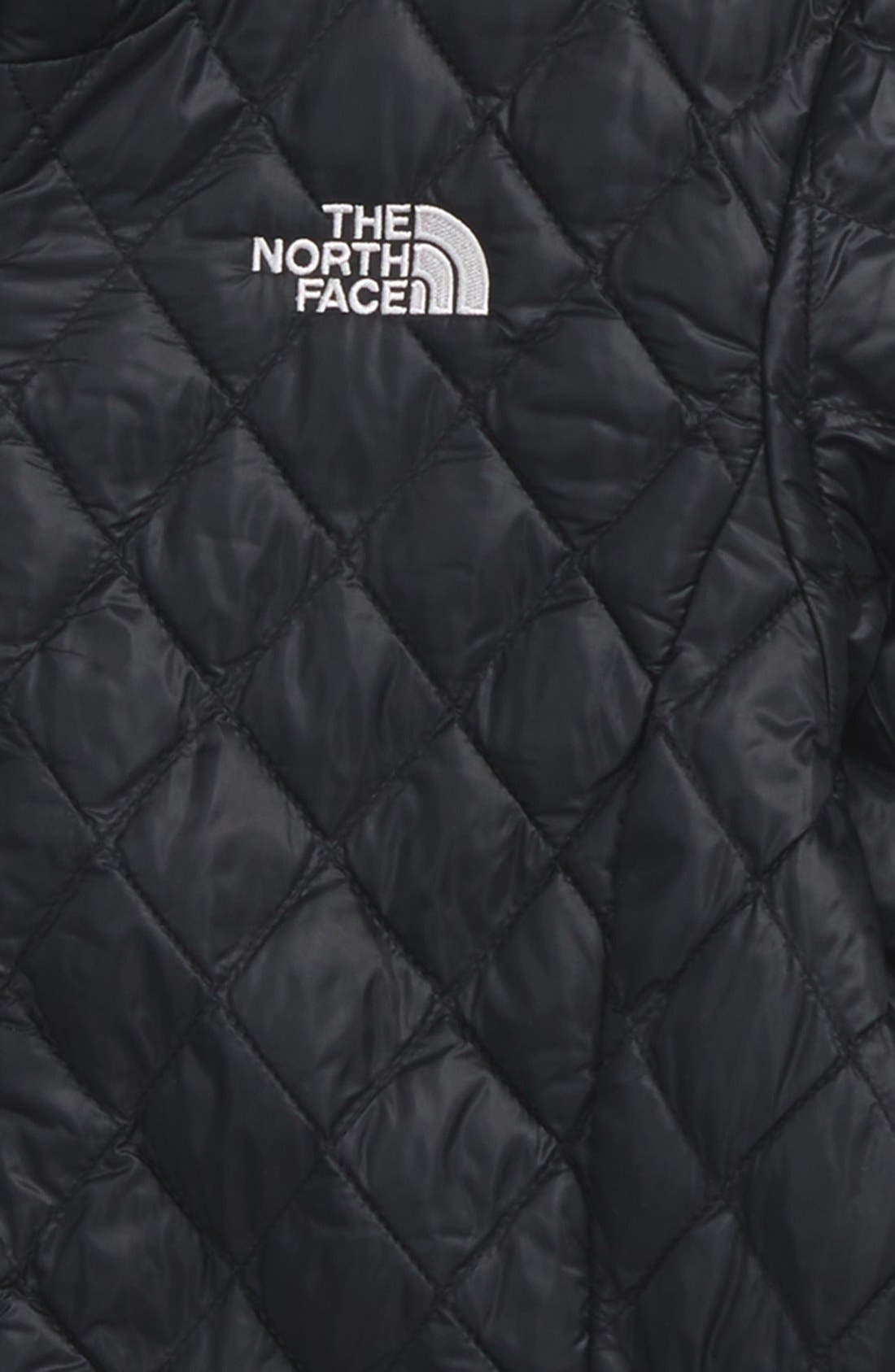 'ThermoBall<sup>™</sup>' PrimaLoft<sup>®</sup> Quilted Parka,                             Alternate thumbnail 3, color,                             TNF BLACK