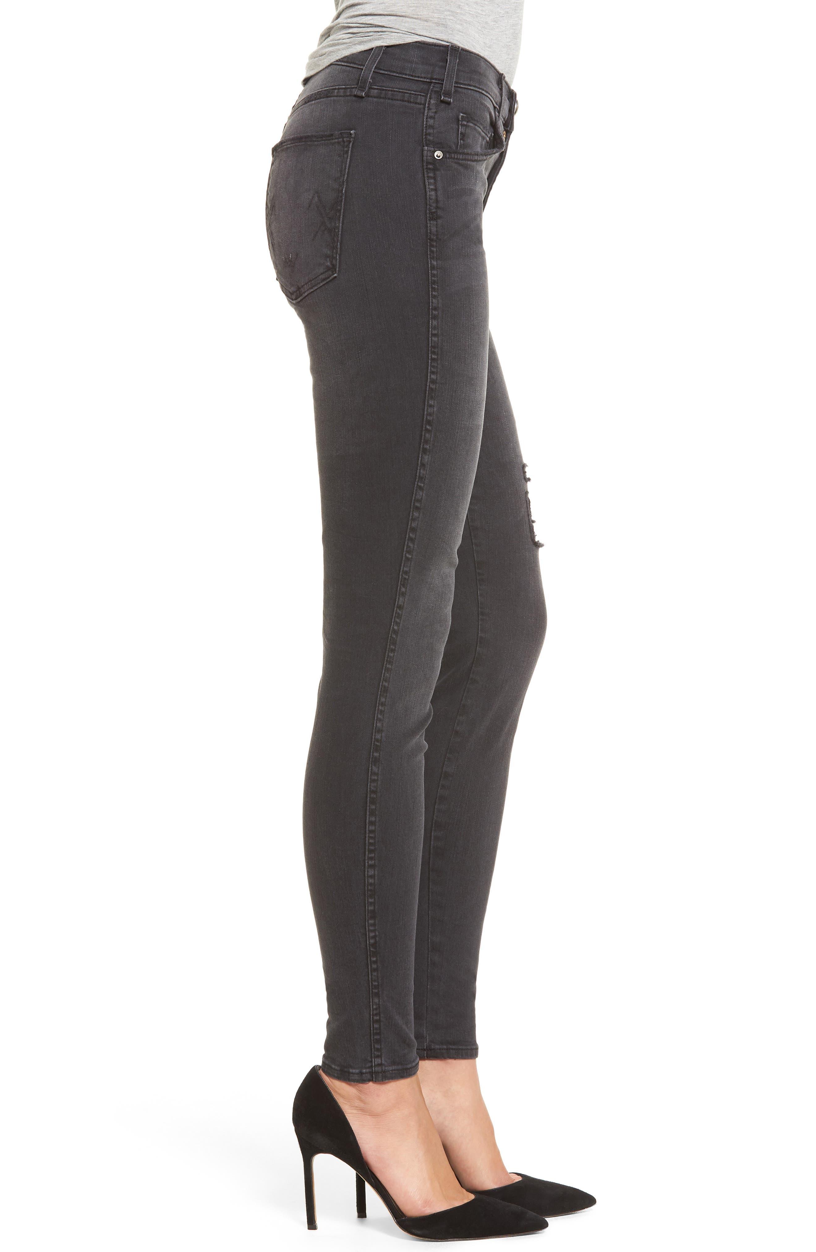 Newton Skinny Jeans,                             Alternate thumbnail 3, color,                             011