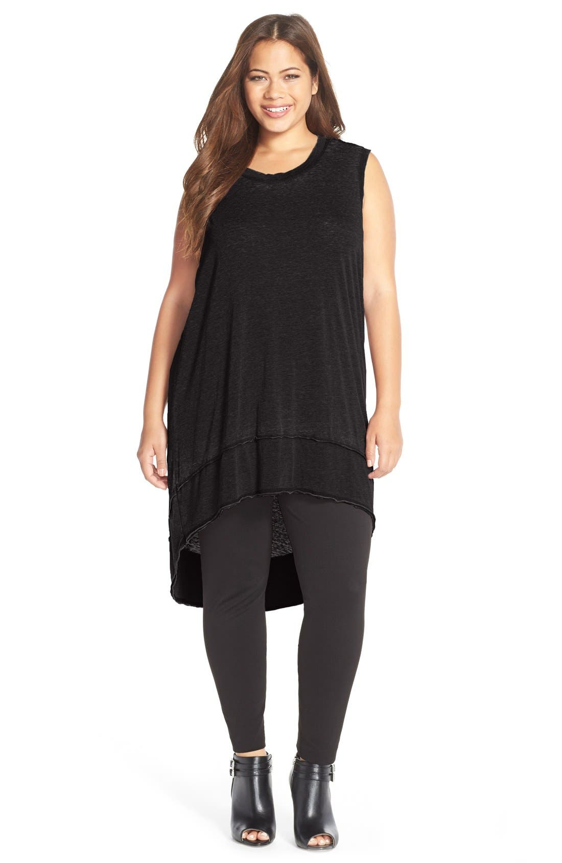 'Extreme' Jersey Tunic Tank, Main, color, 001