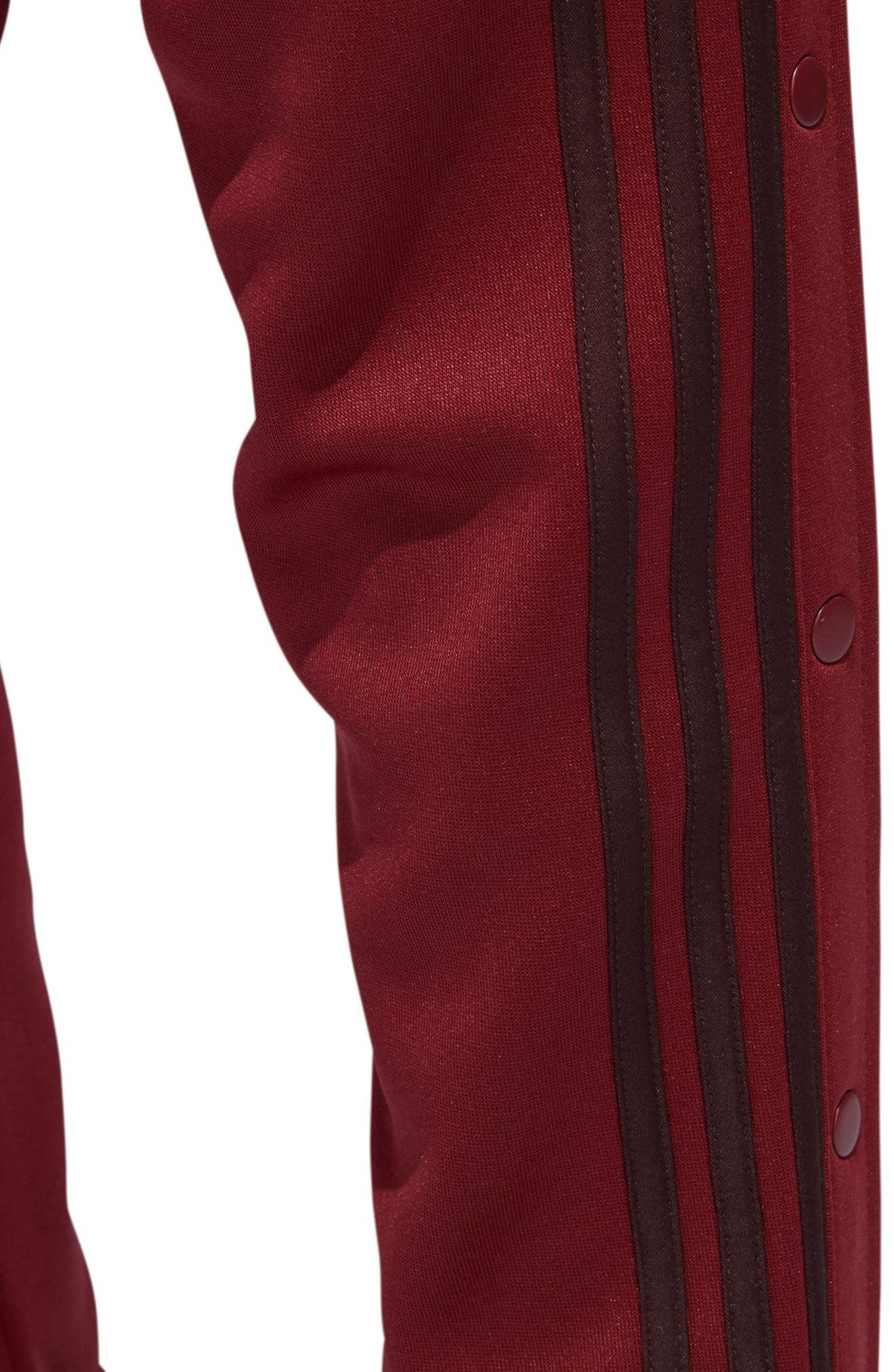 Tricot Snap Pants,                             Alternate thumbnail 13, color,                             NOBLE MAROON/ NIGHT RED