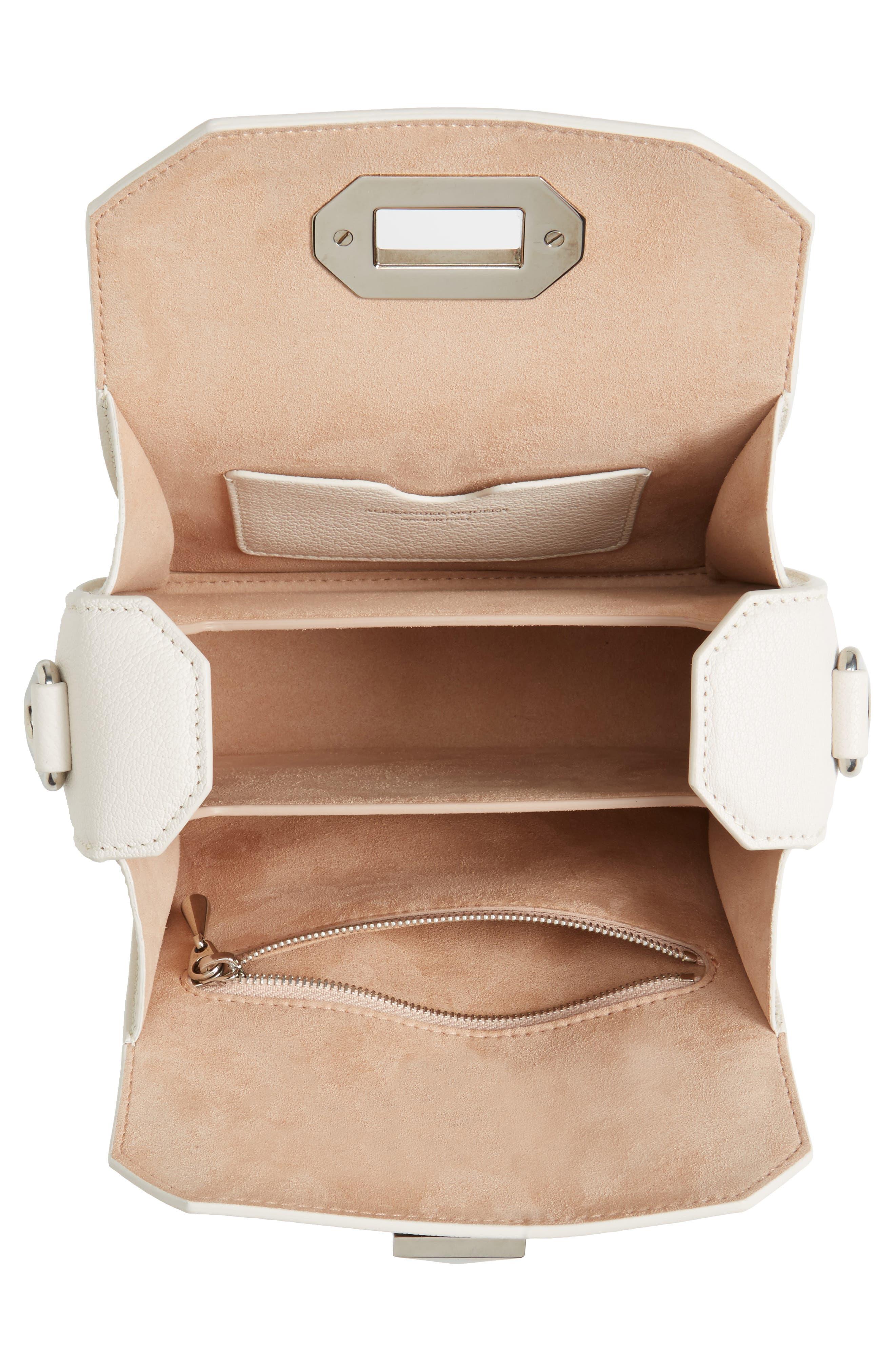 Box Bag 16 Grained Leather Bag,                             Alternate thumbnail 5, color,                             900