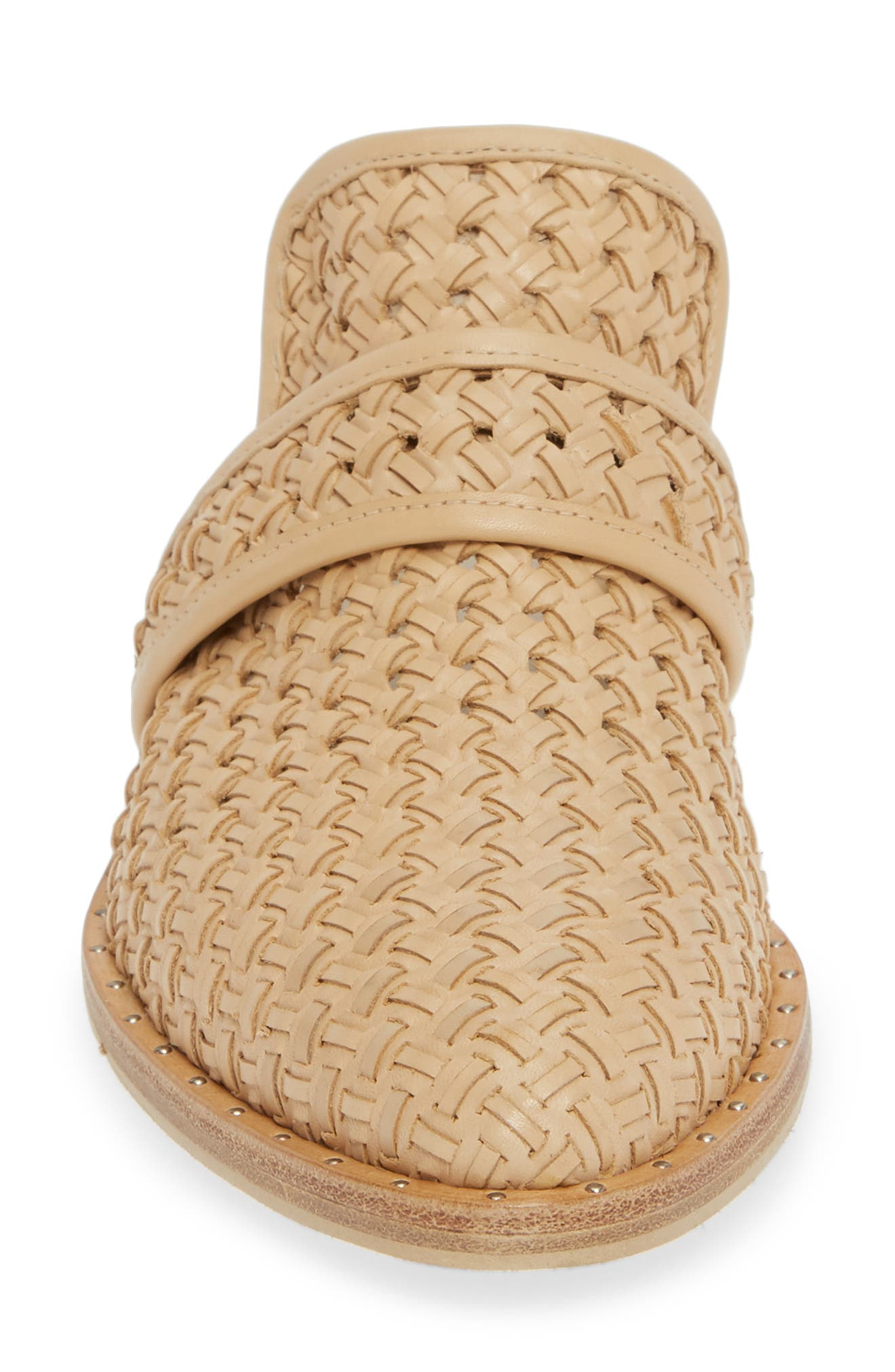 Keen Loafer Mule,                             Alternate thumbnail 4, color,                             NUDE WOVEN