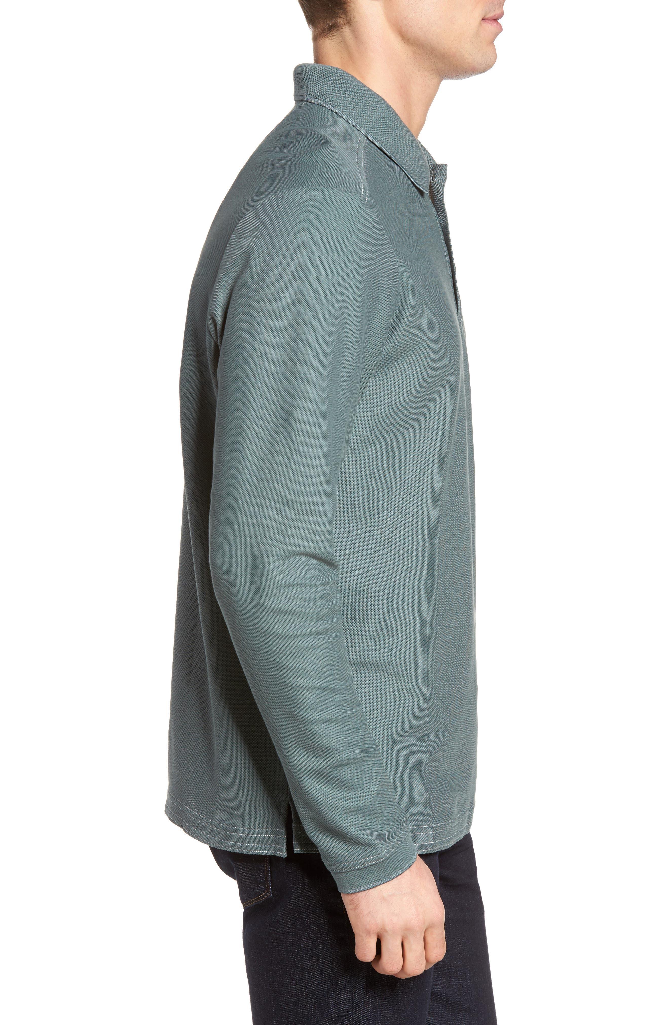 Emfielder Long Sleeve Polo,                             Alternate thumbnail 32, color,