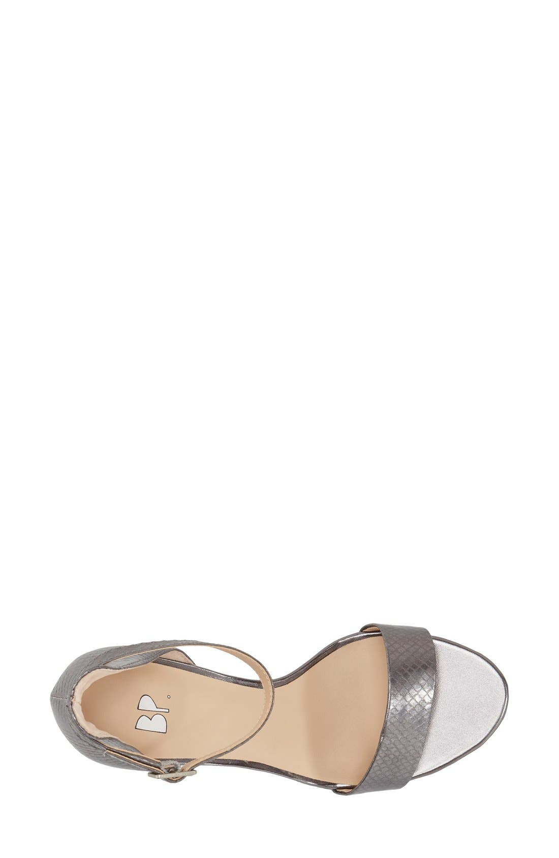'Luminate' Open Toe Dress Sandal,                             Alternate thumbnail 153, color,