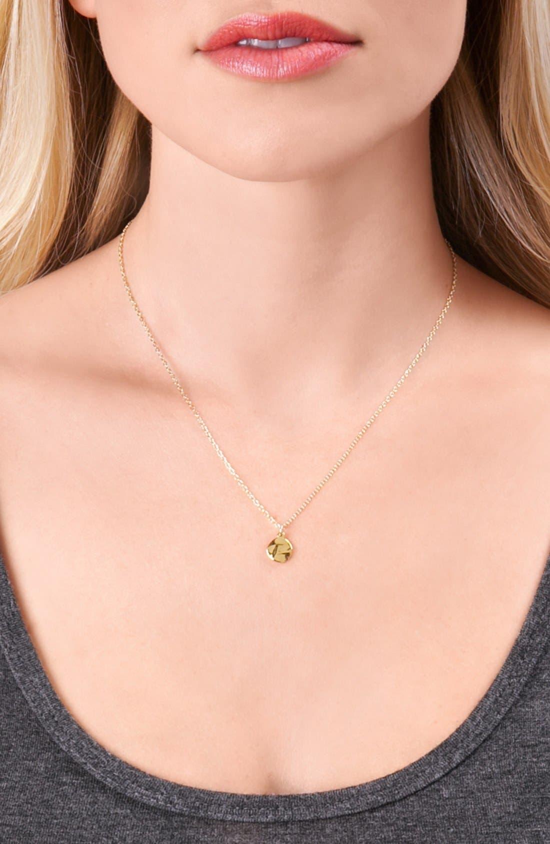 'Chloe' Pendant Necklace,                             Alternate thumbnail 4, color,                             710