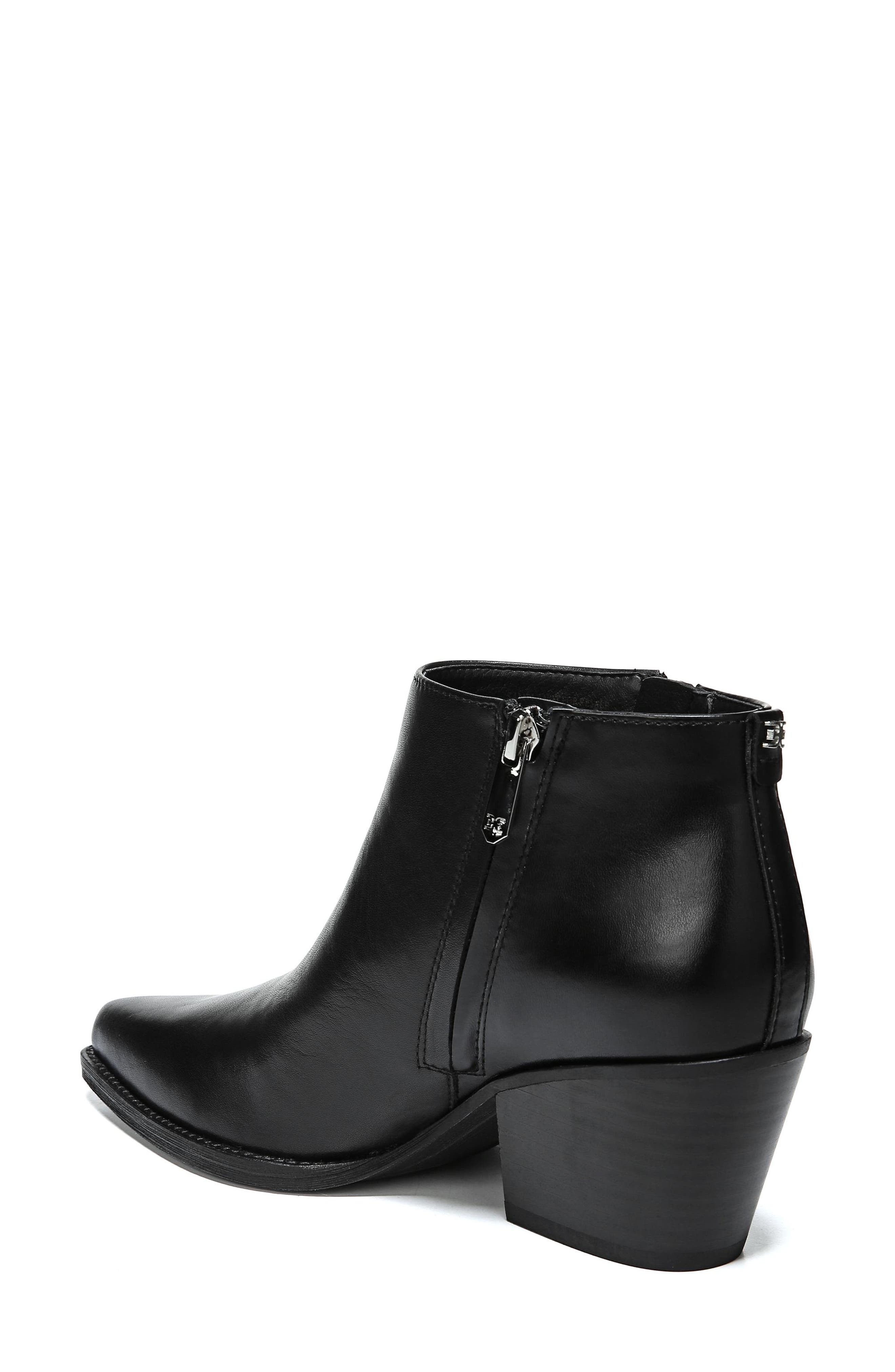 Walden Bootie,                             Alternate thumbnail 2, color,                             BLACK LEATHER
