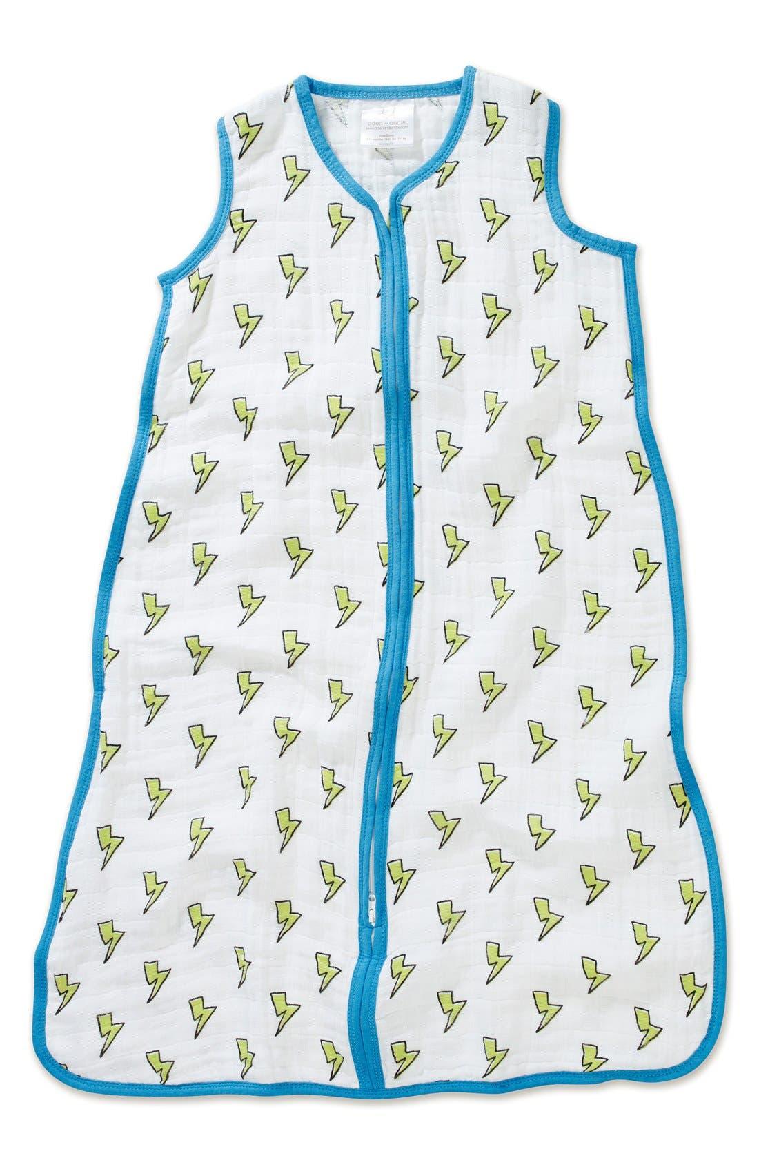 Print Sleeping Bag Wearable Blanket,                             Main thumbnail 1, color,                             130