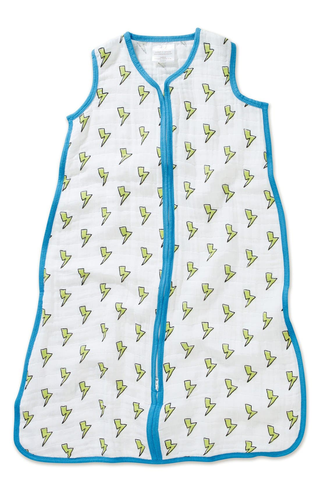 Print Sleeping Bag Wearable Blanket, Main, color, 130