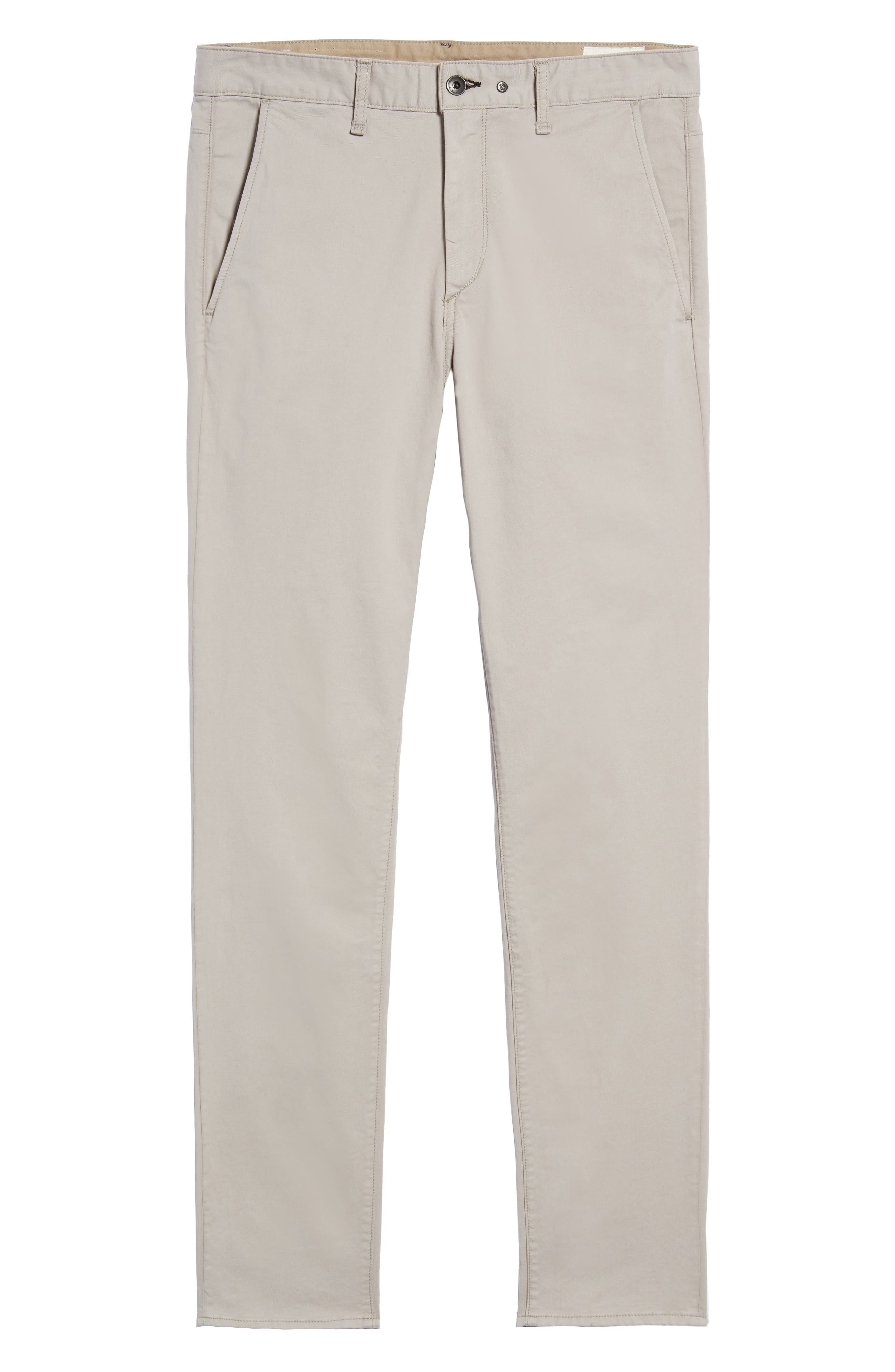 Fit 2 Classic Chinos,                             Alternate thumbnail 6, color,                             LIGHT GREY
