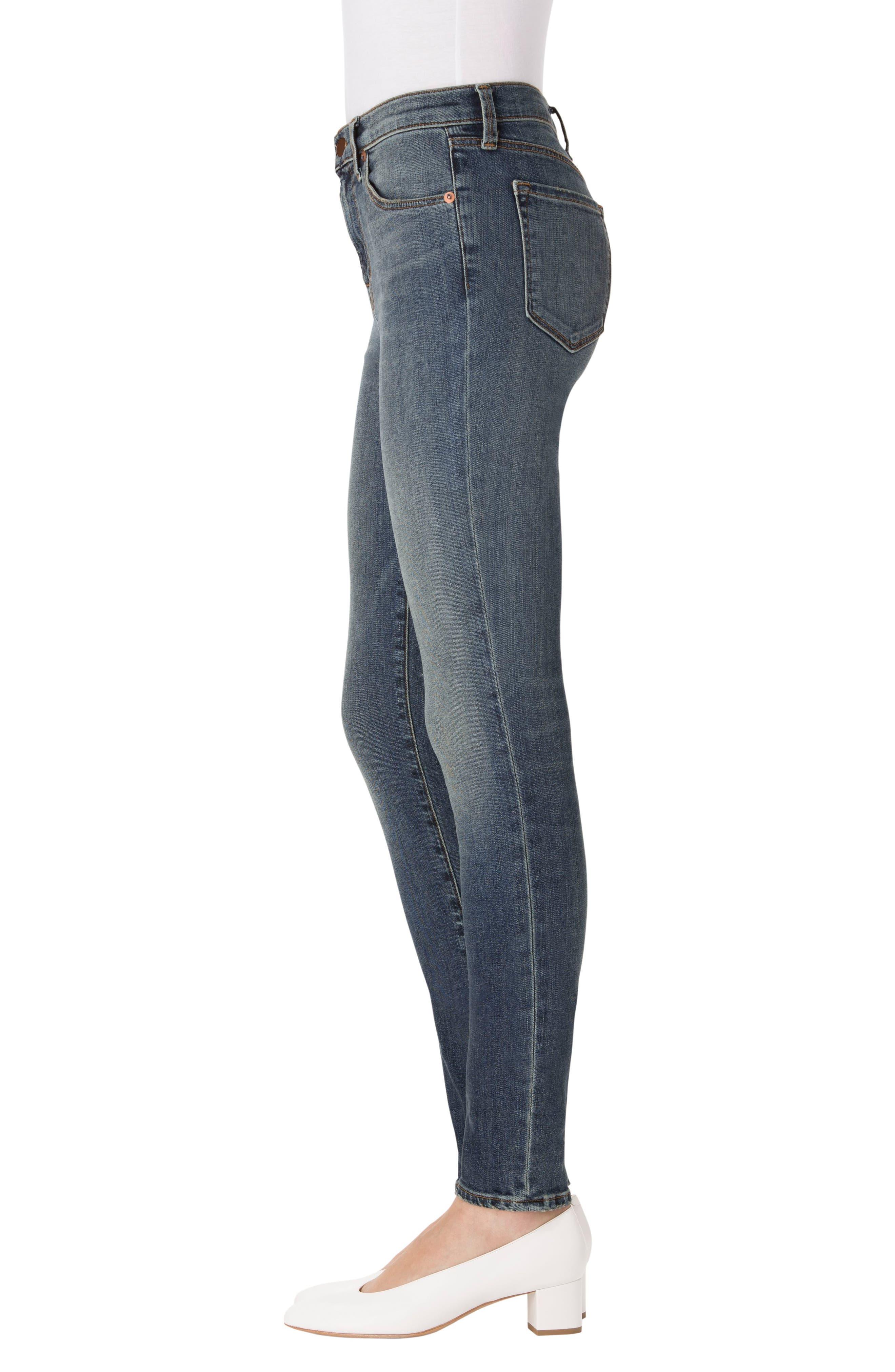 Maria High Waist Skinny Jeans,                             Alternate thumbnail 23, color,