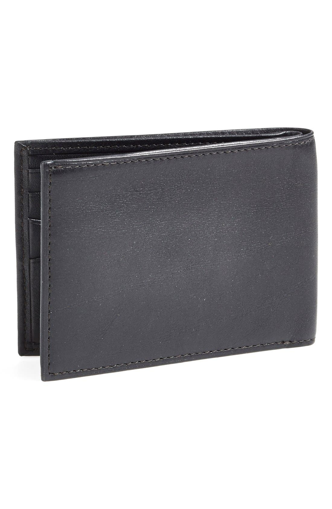 Small Bifold Wallet,                             Alternate thumbnail 4, color,                             001