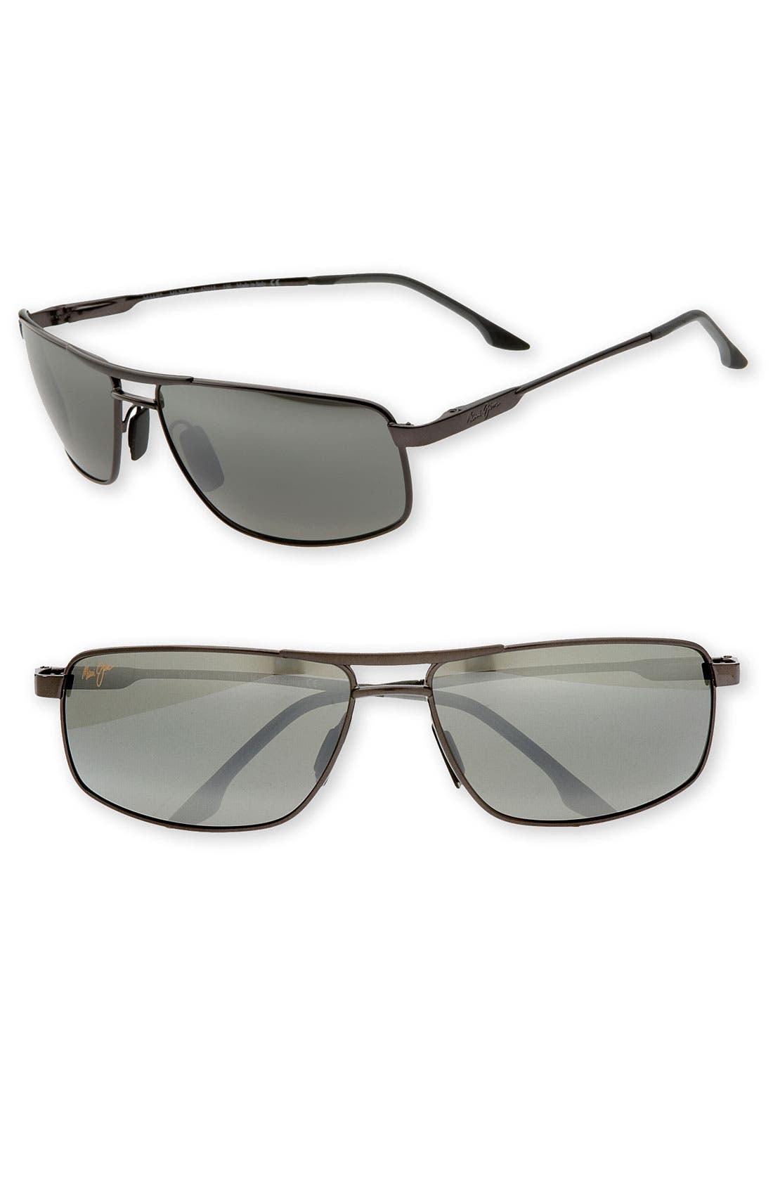 'Kapena - PolarizedPlus<sup>®</sup>2' Sunglasses,                             Main thumbnail 1, color,                             001