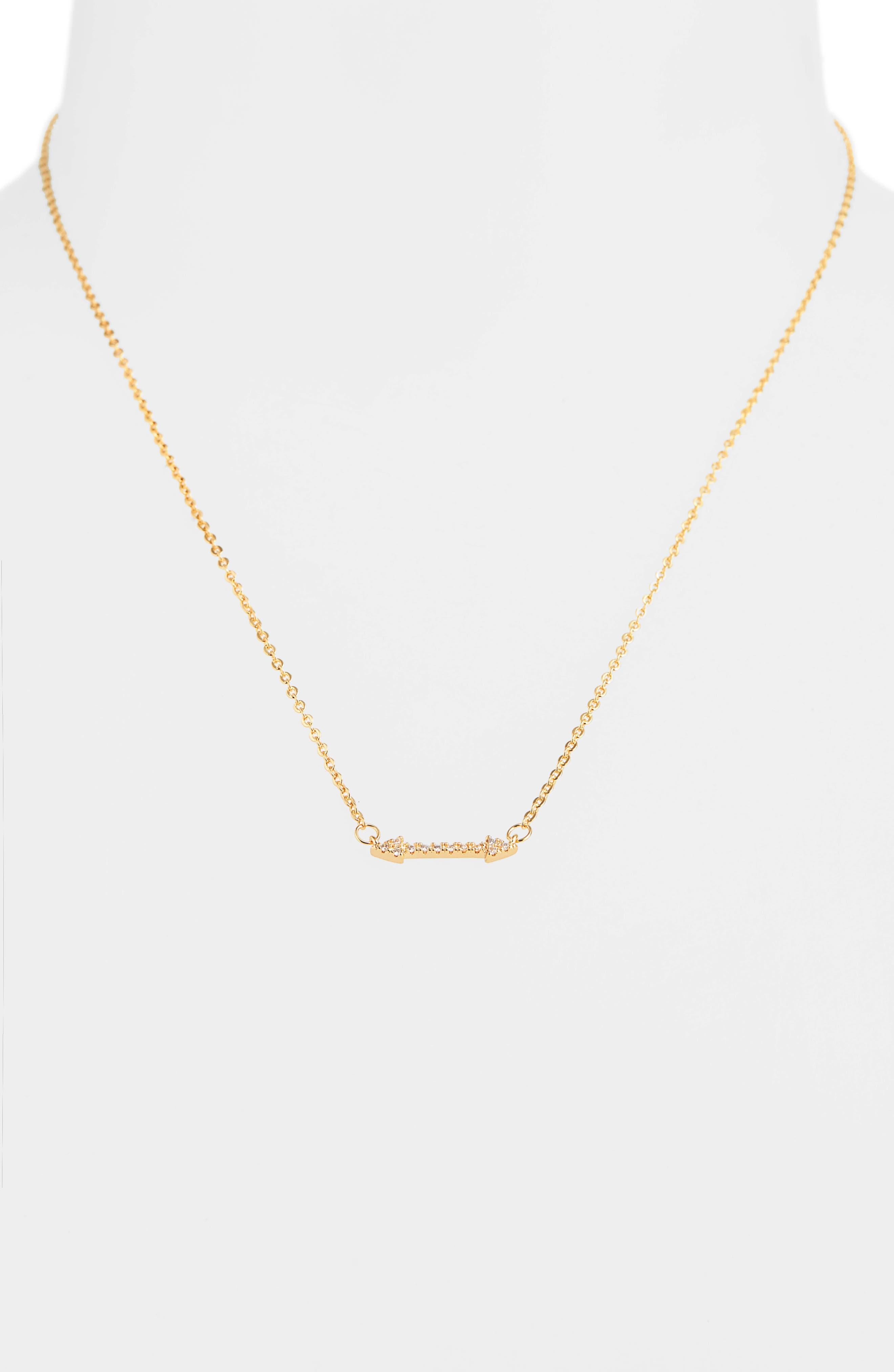 Girls Mia Bella Arrow Necklace