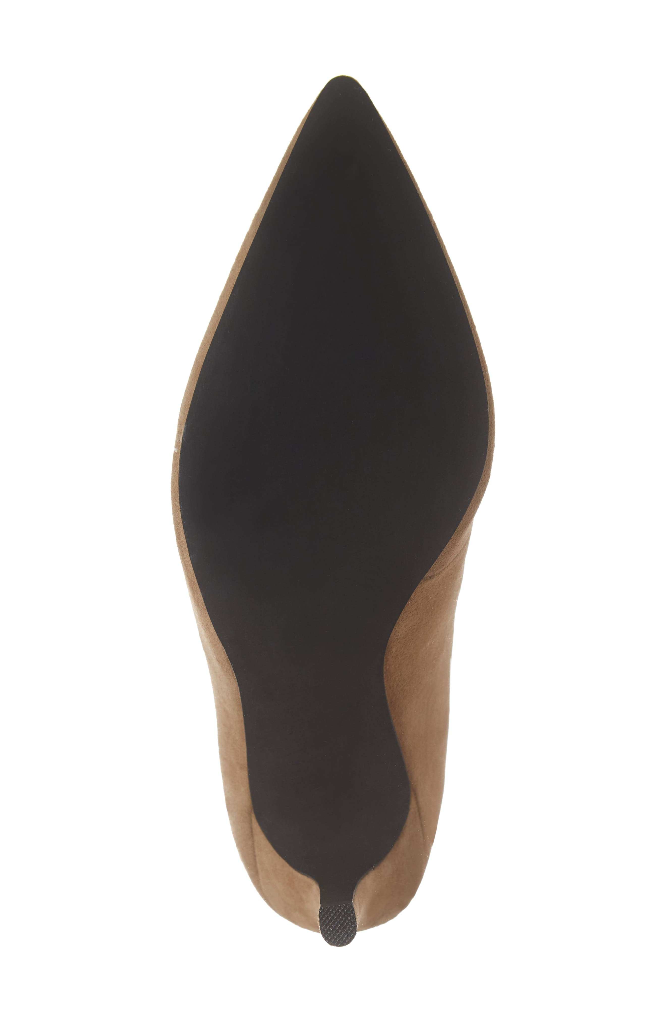 Electron Bootie,                             Alternate thumbnail 6, color,                             NUDE SUEDE