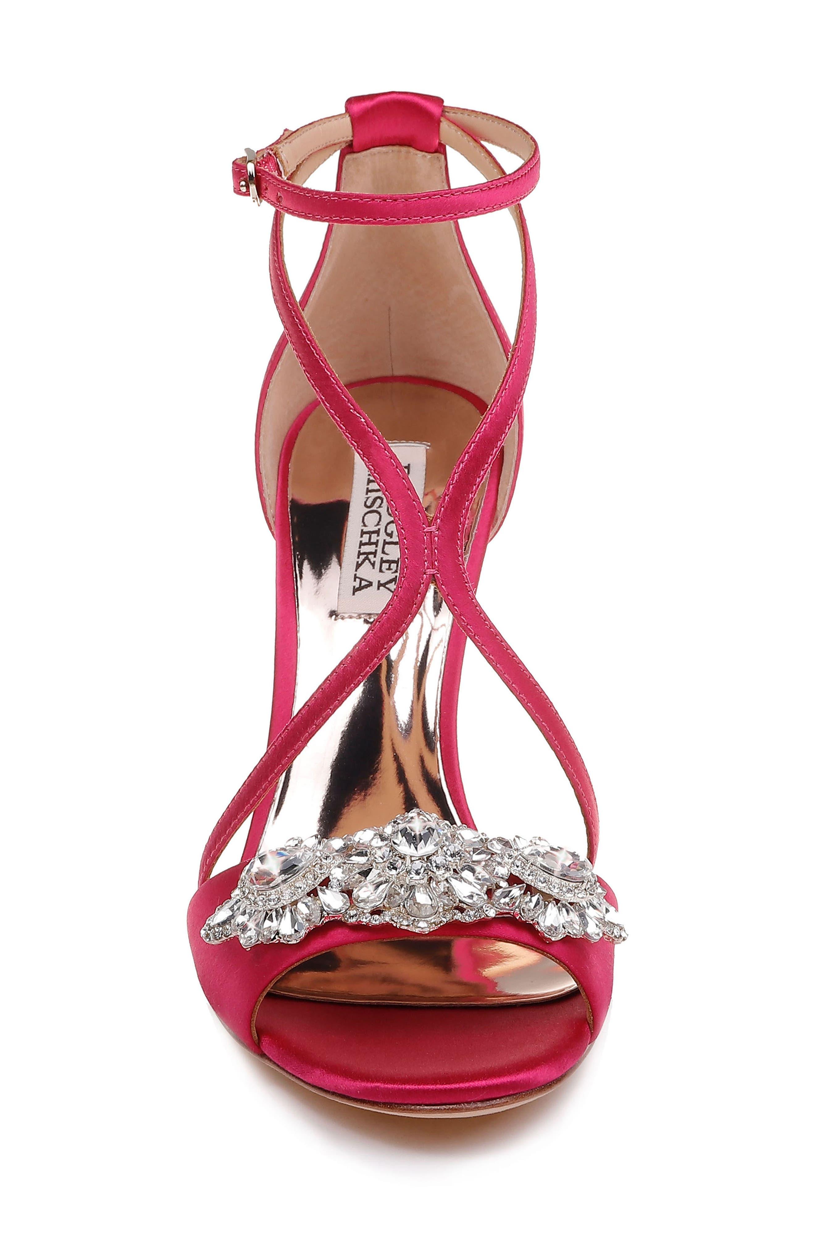 Vanessa Crystal Embellished Sandal,                             Alternate thumbnail 4, color,                             688