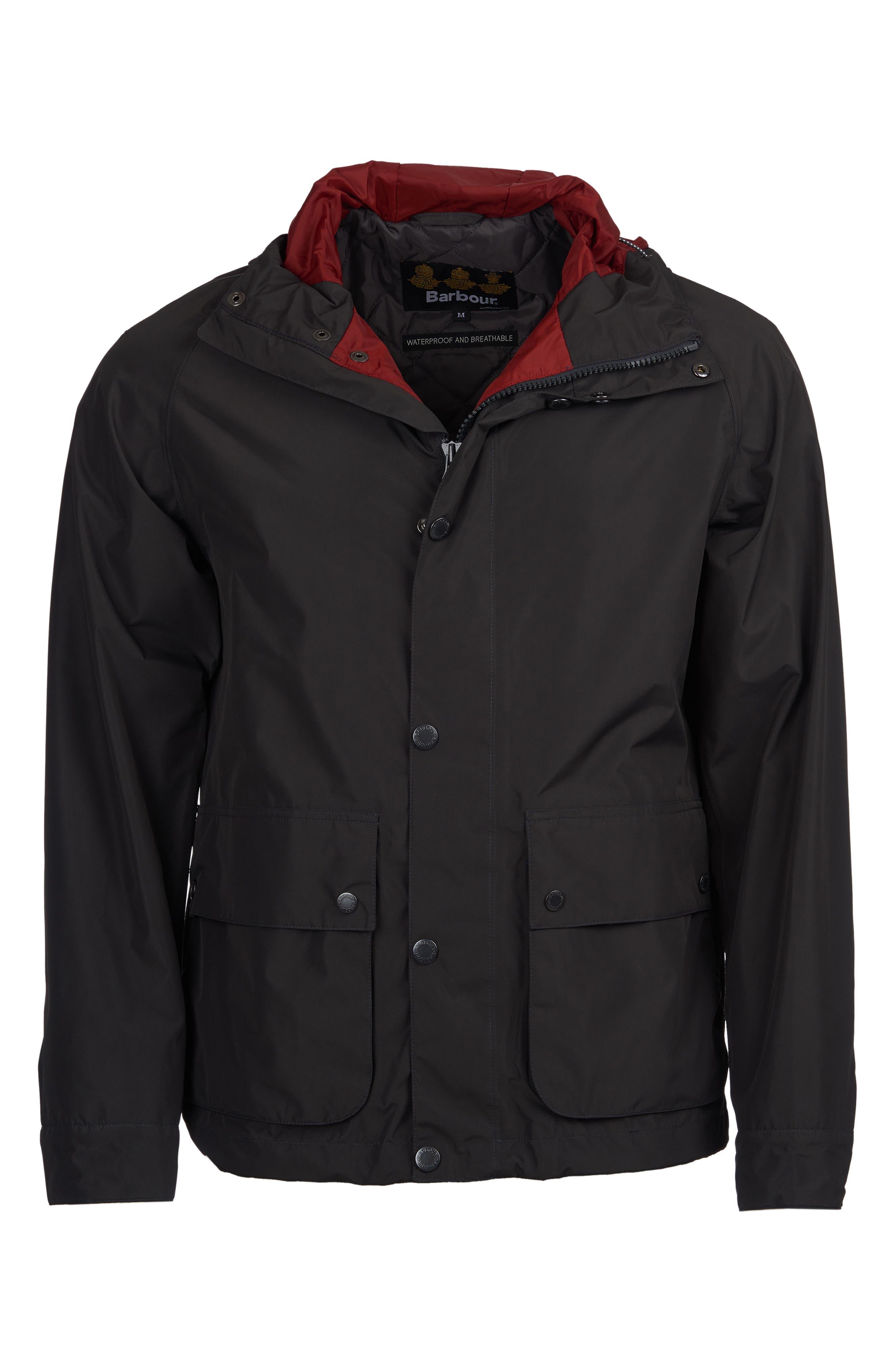 Barbour Gunwale Waterproof Jacket, Grey