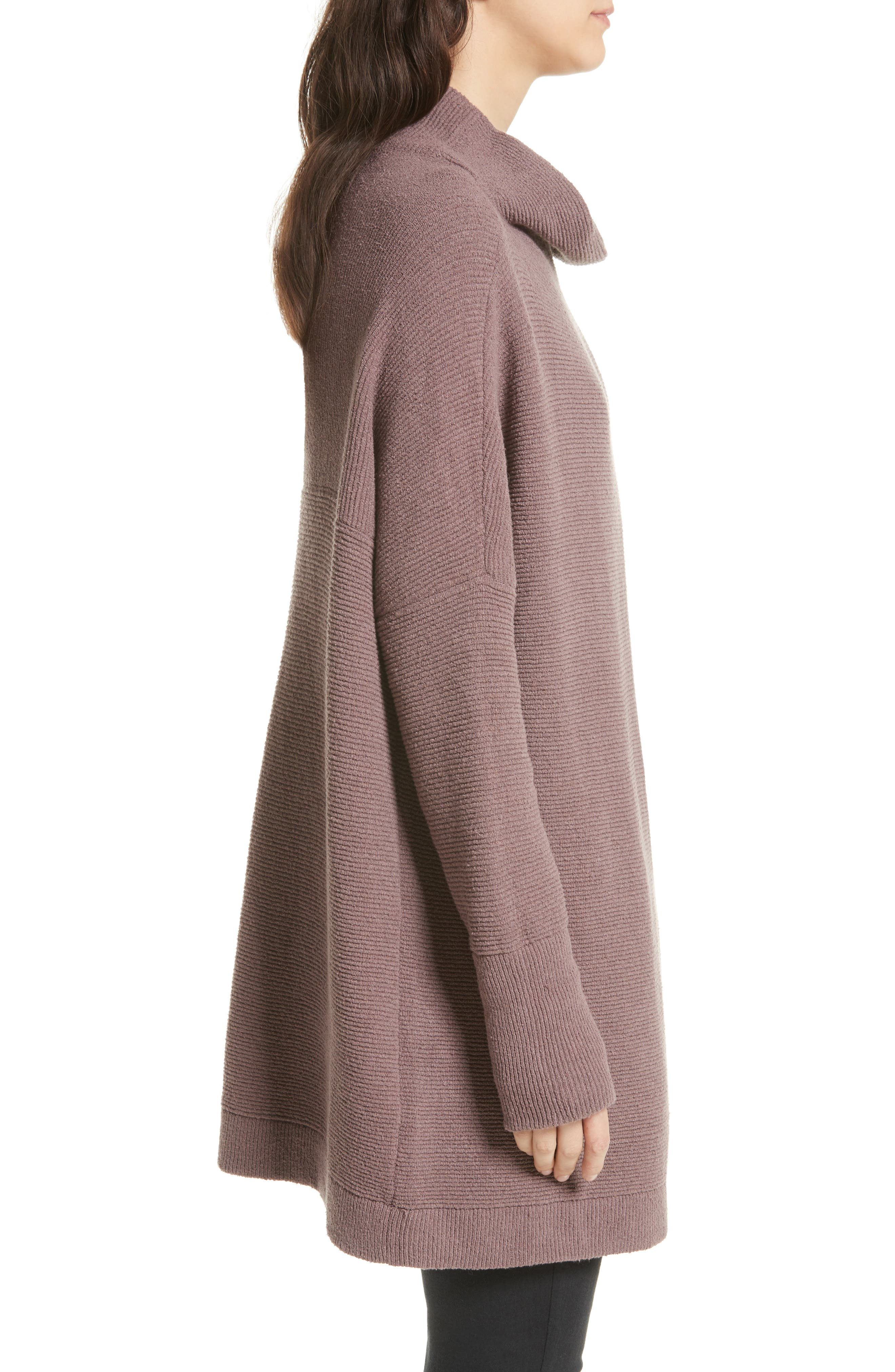 FREE PEOPLE,                             Ottoman Slouchy Tunic,                             Alternate thumbnail 3, color,                             MINK