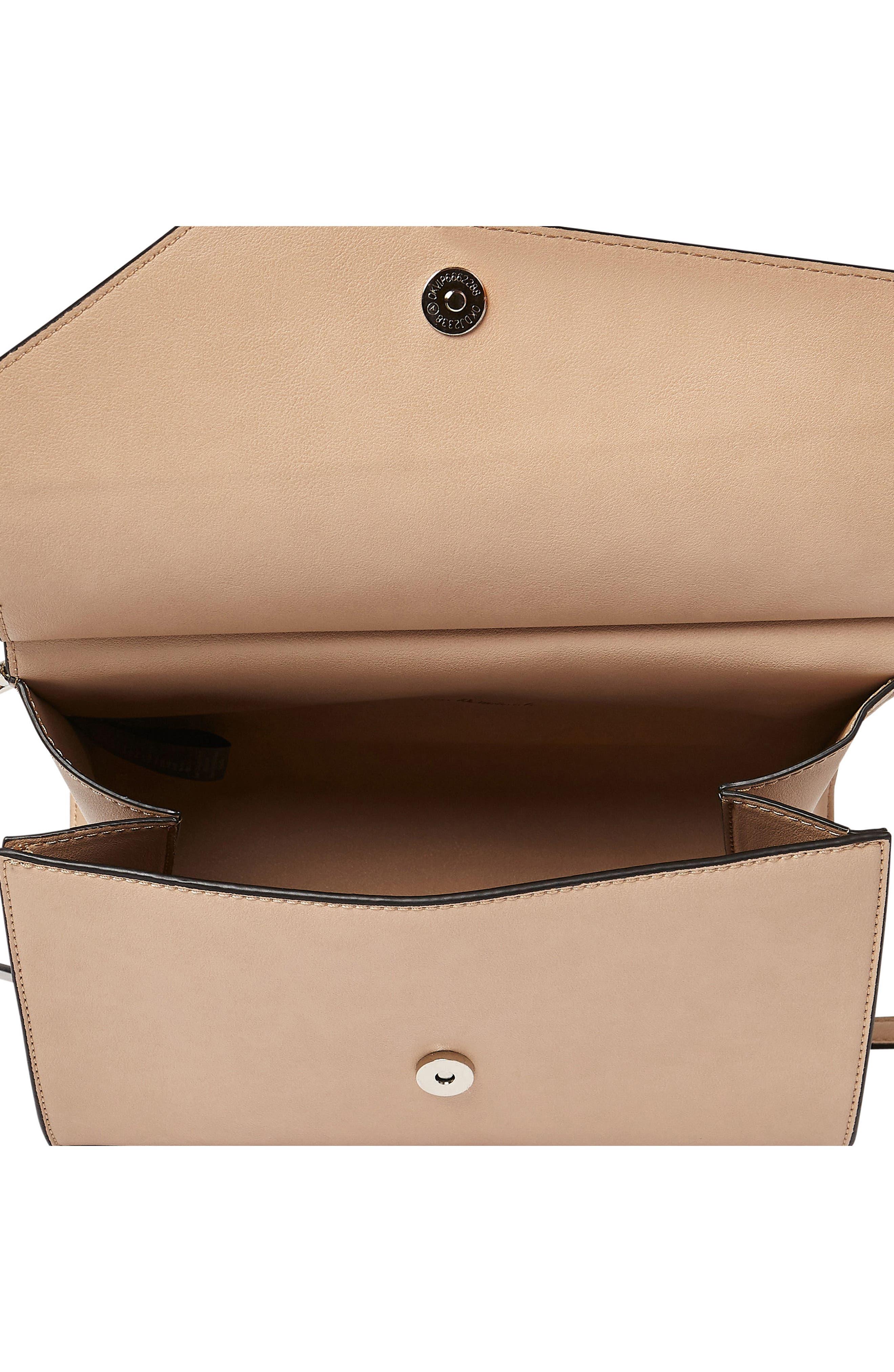 Shimmer Vegan Leather Shoulder Bag,                             Alternate thumbnail 9, color,