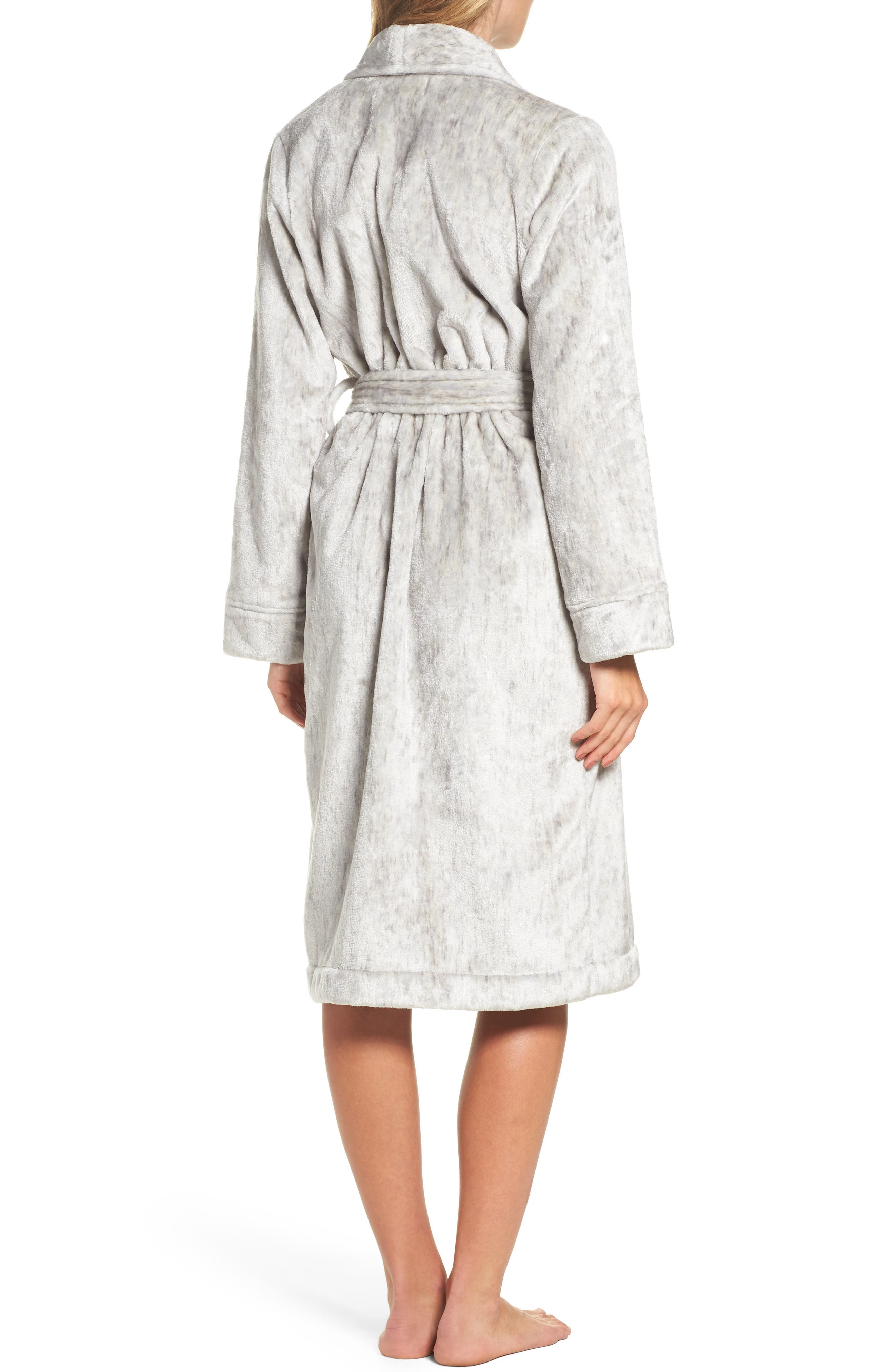 Nordstrom So Soft Plush Robe,                             Alternate thumbnail 4, color,