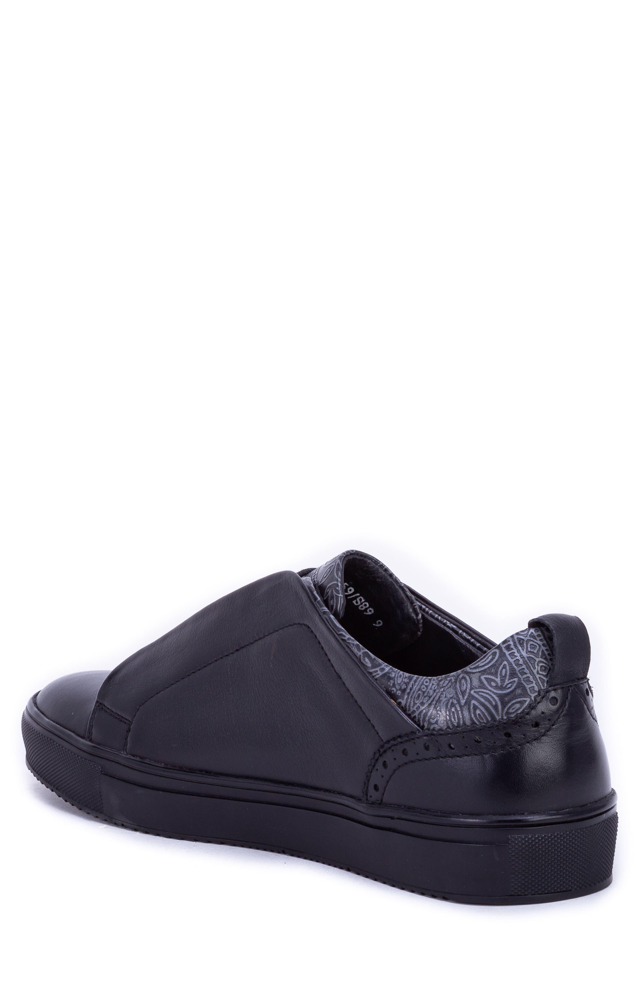 Sharpe Textured Sneaker,                             Alternate thumbnail 2, color,                             001