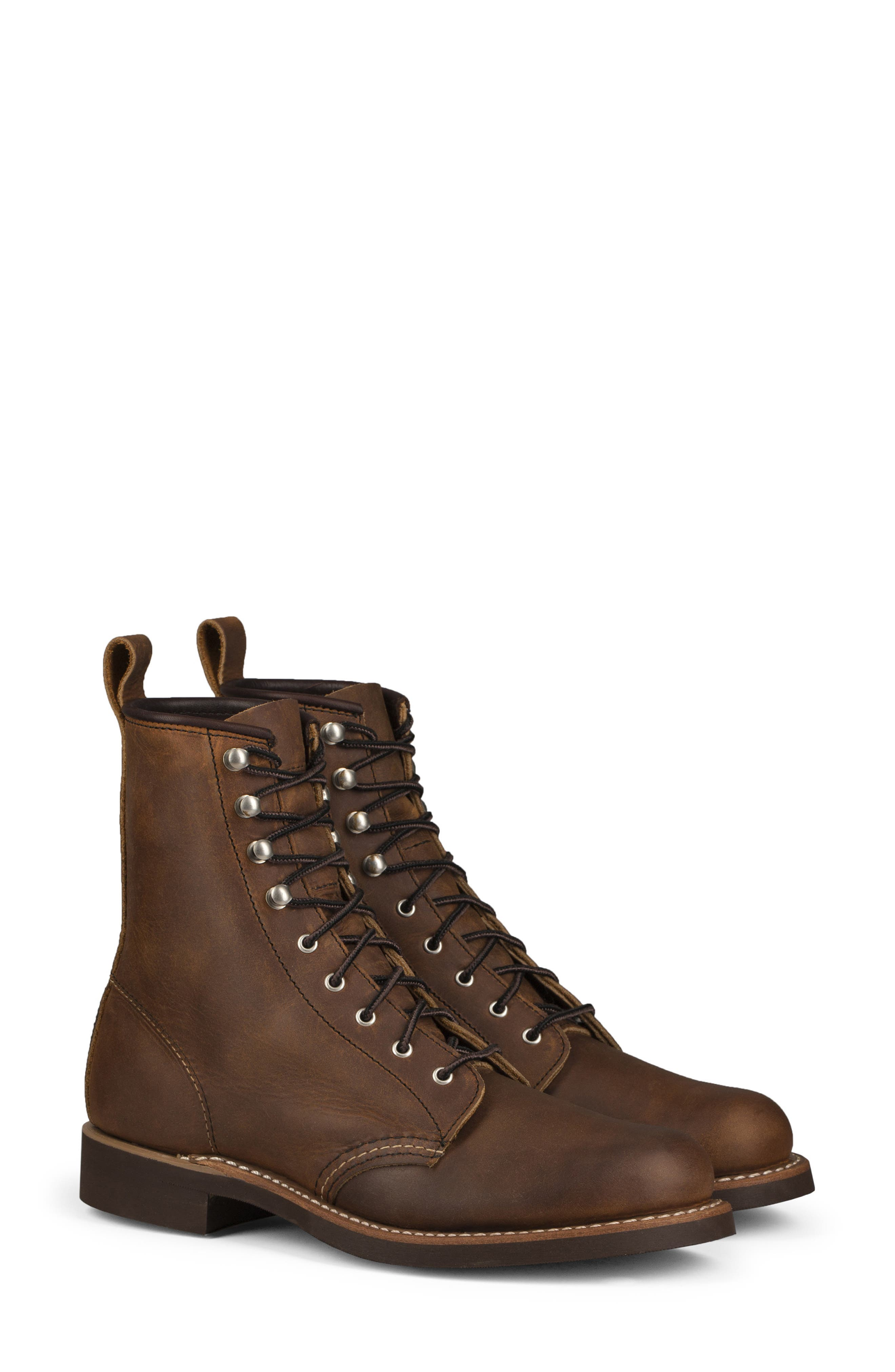 RED WING Silversmith Boot in Copper Rough Tough Leather