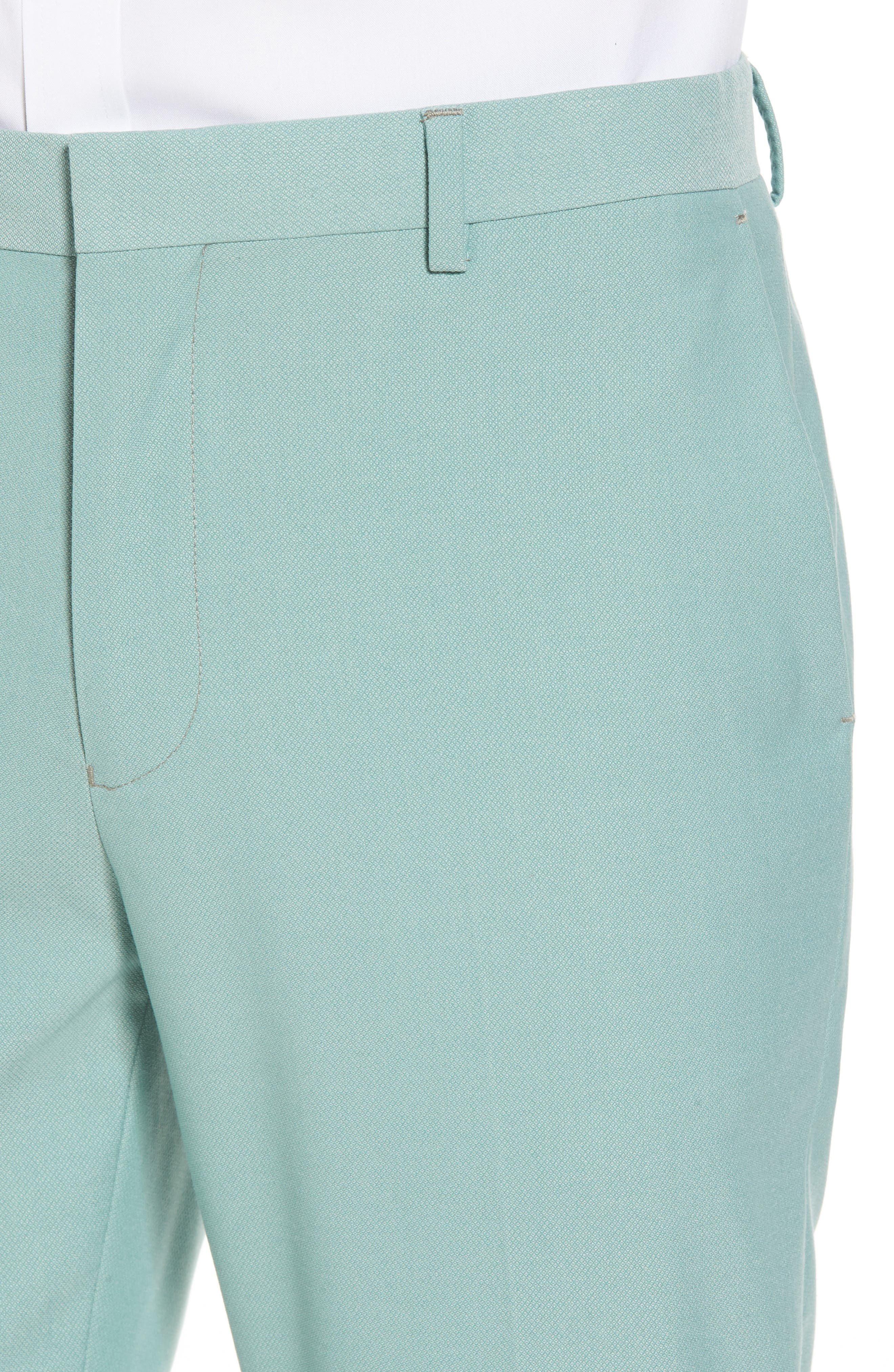 Skinny Fit Suit Trousers,                             Alternate thumbnail 7, color,