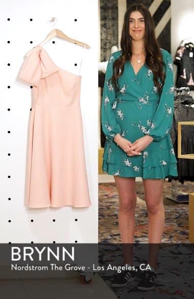 Yvonne Dream Crepe One-Shoulder Dress, sales video thumbnail