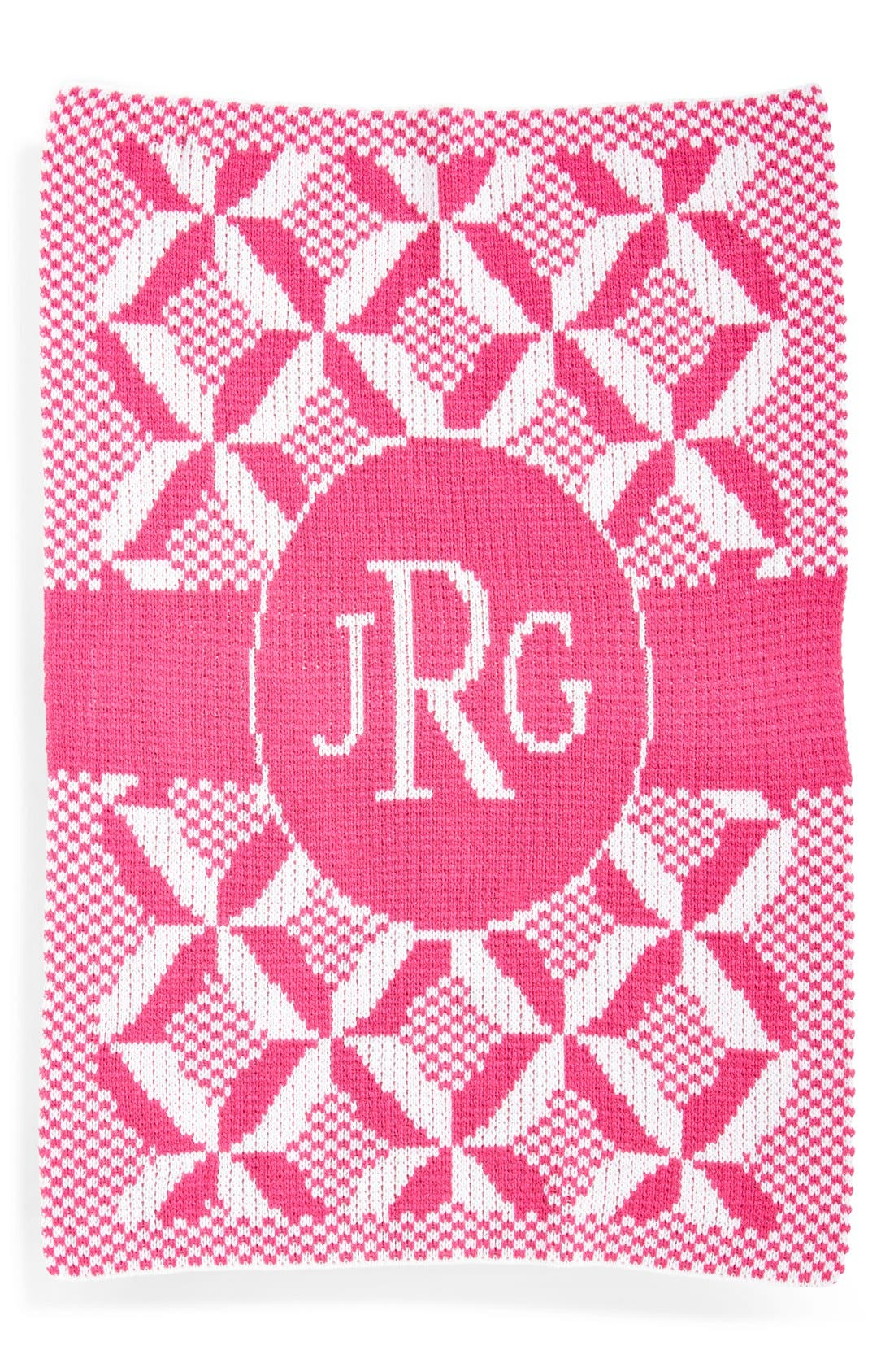 'Puzzle' Personalized Blanket,                             Main thumbnail 1, color,                             650
