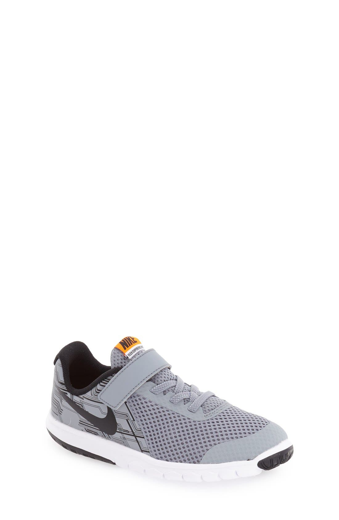 'Flex Experience 5 Print' Running Shoe, Main, color, 001
