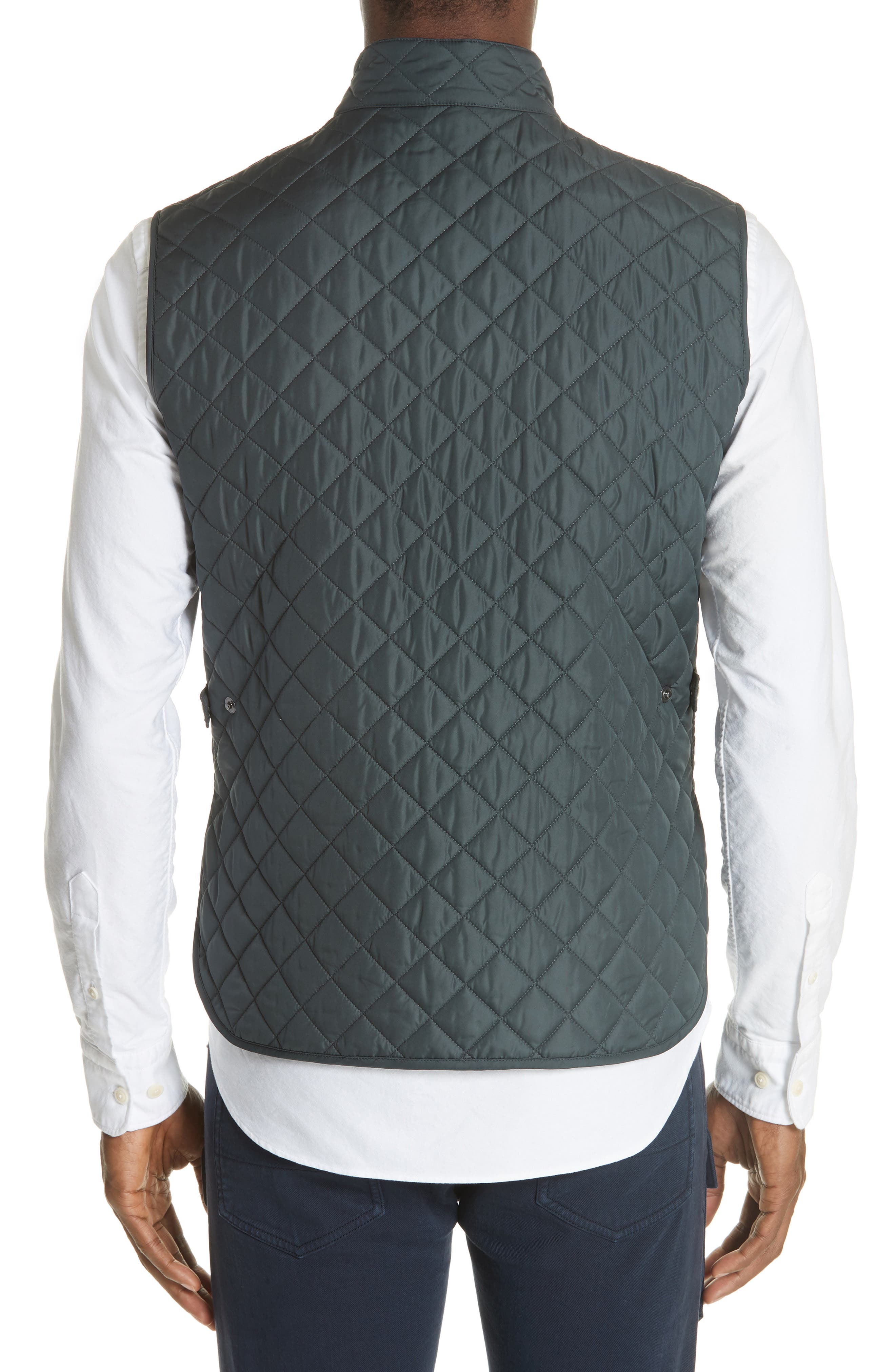 Waistcoat Tech Quilted Vest,                             Alternate thumbnail 2, color,                             400