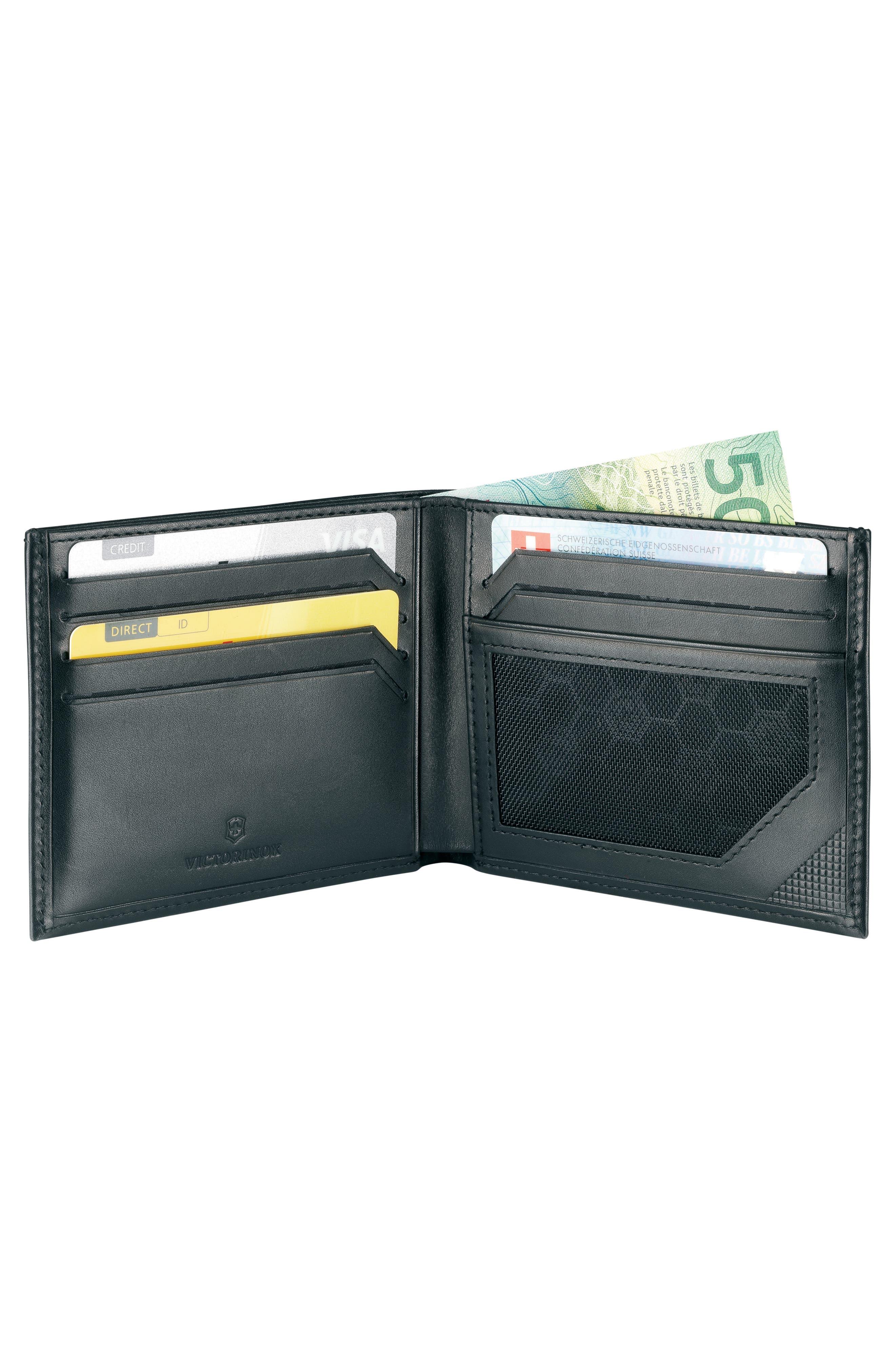 Altius Edge Zenon Wallet,                             Alternate thumbnail 4, color,                             BLACK