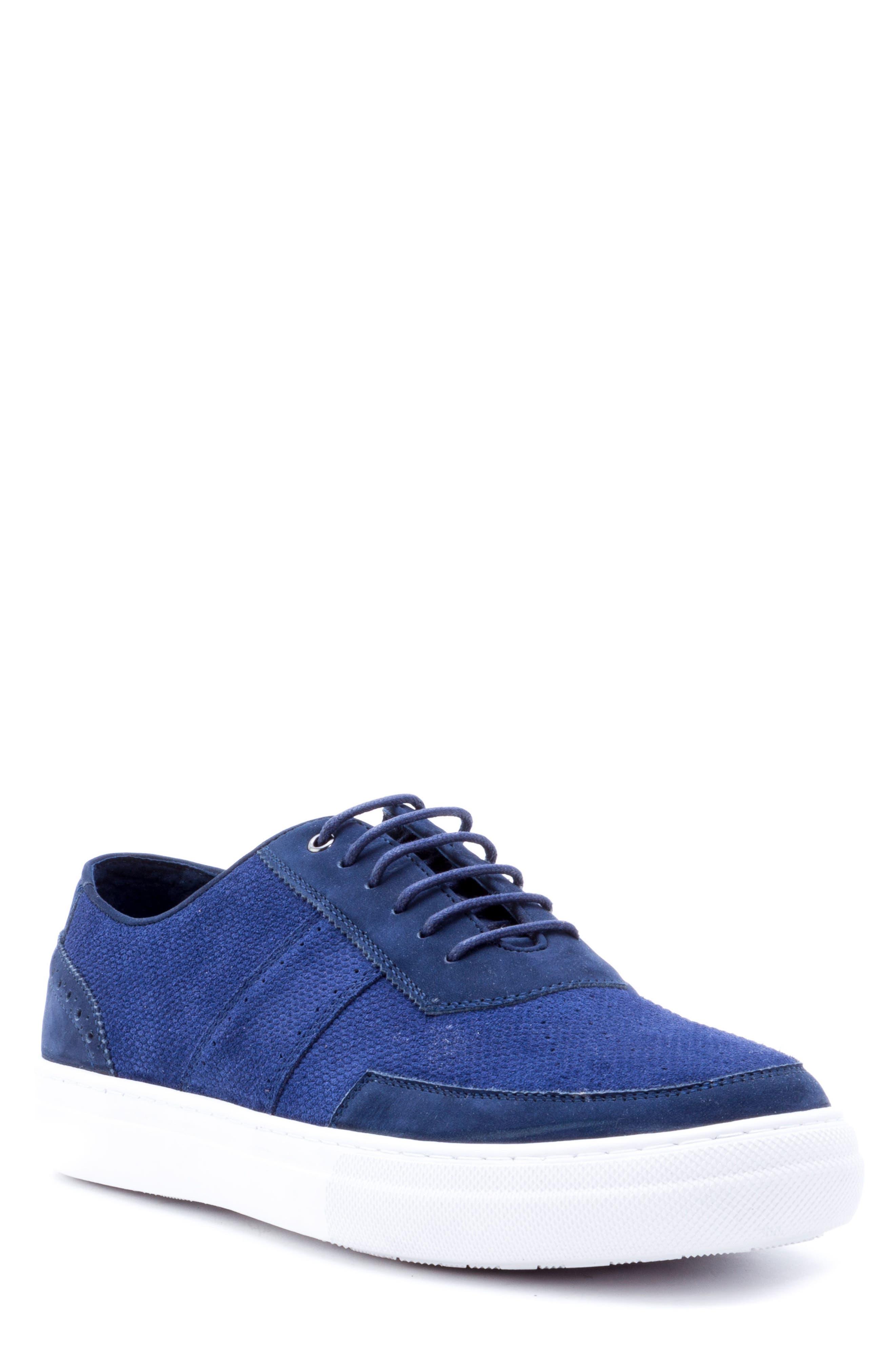 Zanzara House Low Top Sneaker, Blue