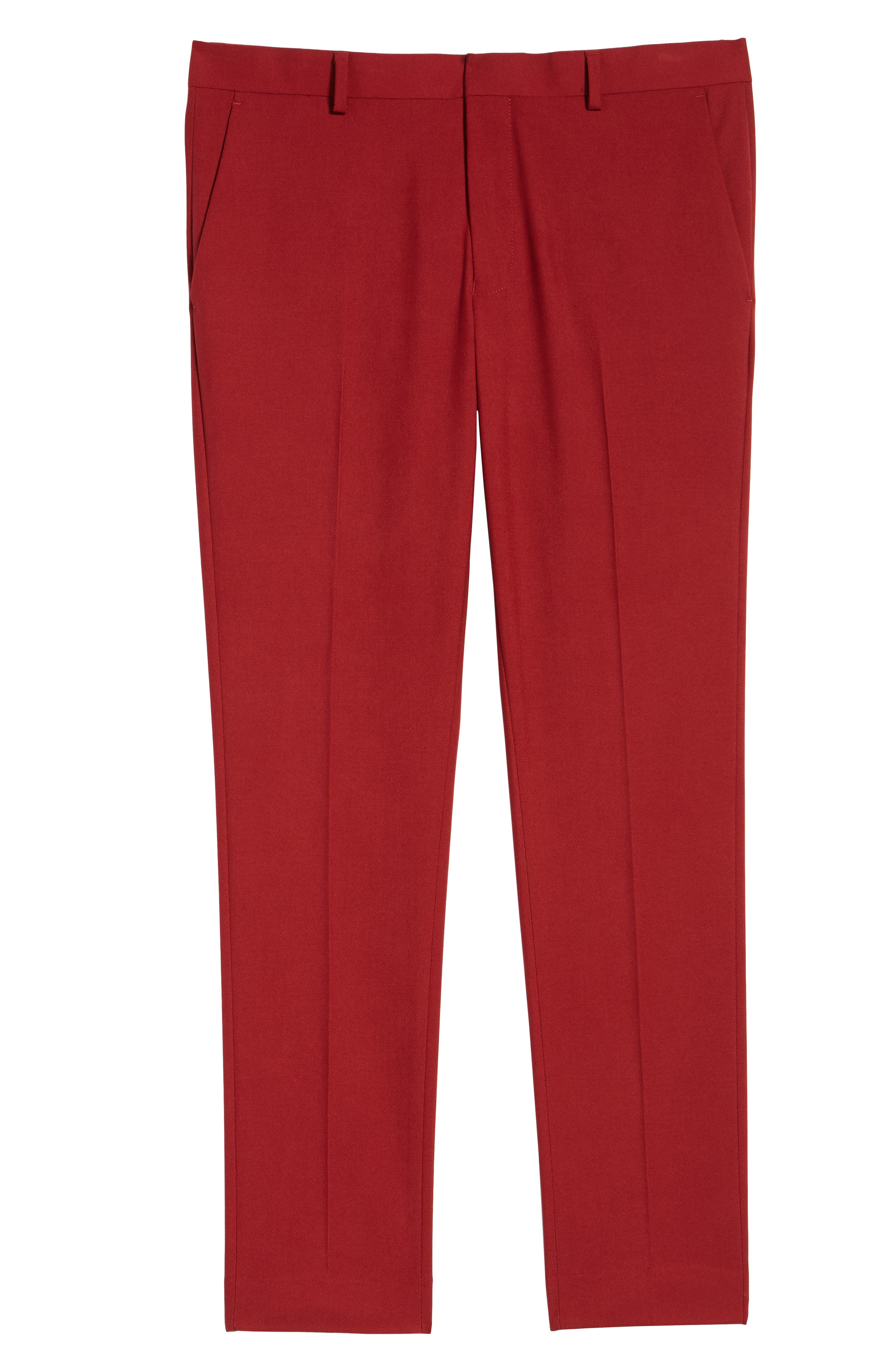 Skinny Fit Suit Trousers,                             Alternate thumbnail 6, color,                             600