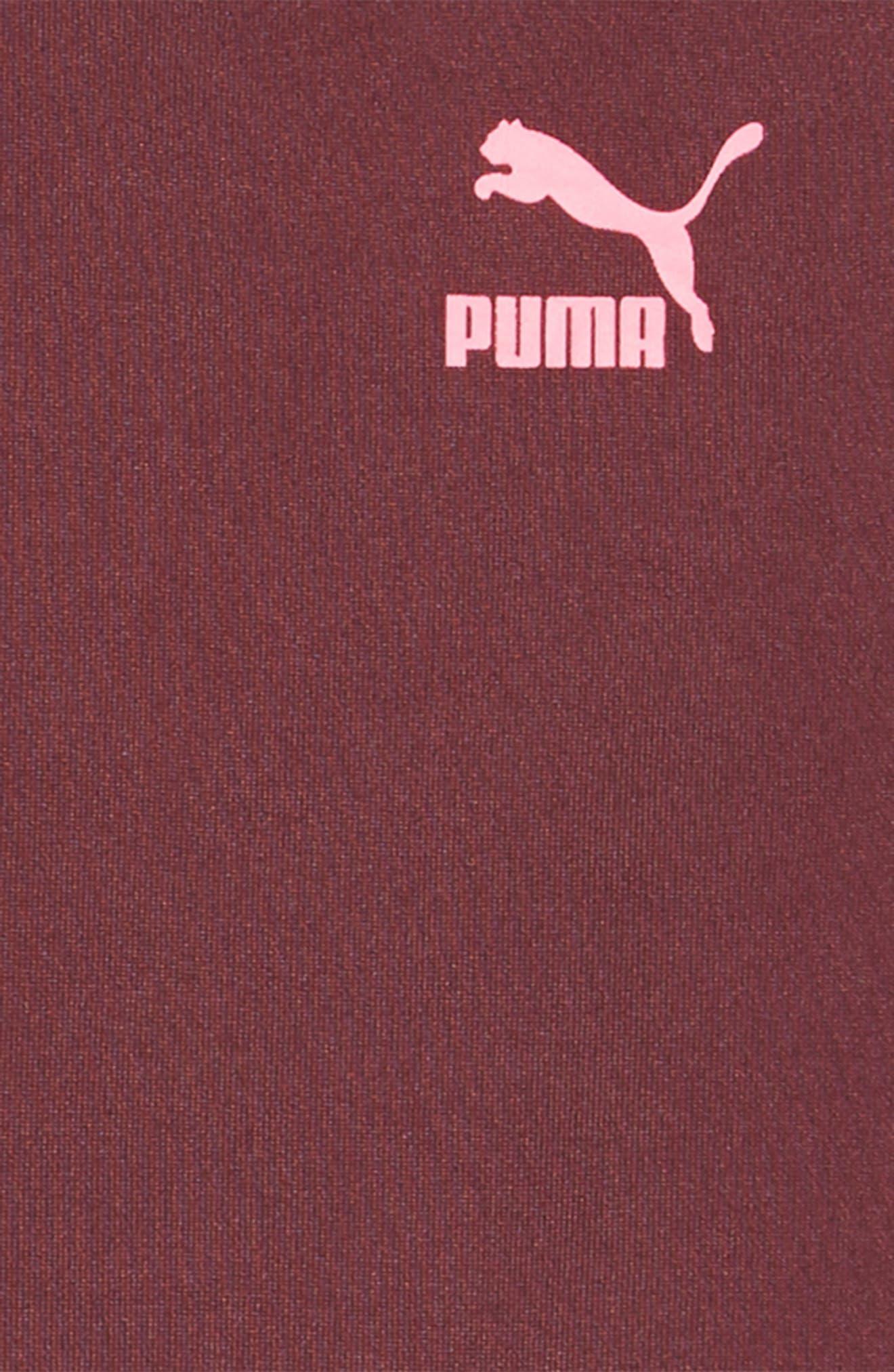 PUMA,                             Oversized Hooded Sweatshirt Dress,                             Alternate thumbnail 3, color,                             597