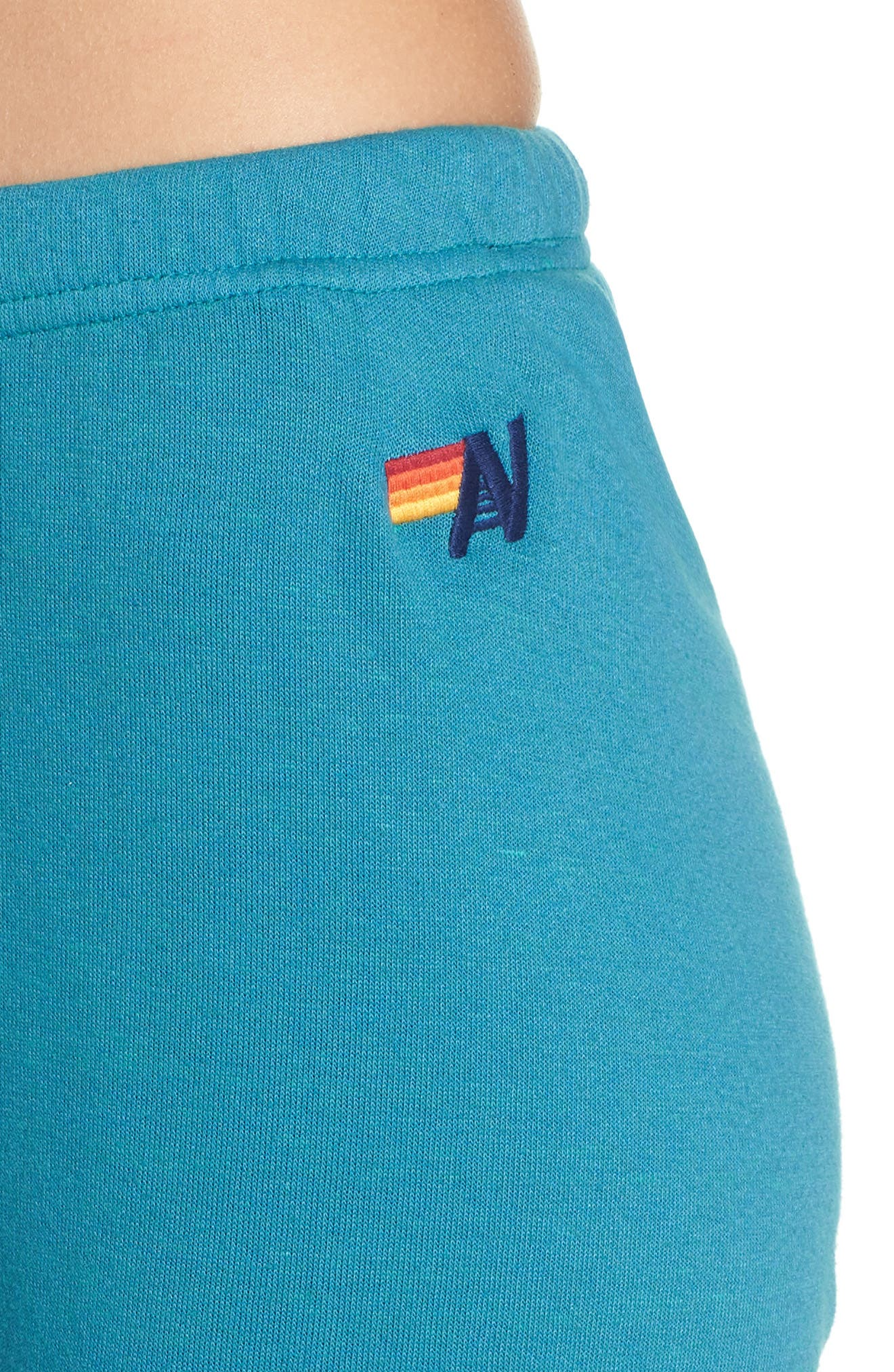 Faded Sweatpants,                             Alternate thumbnail 4, color,                             TEAL / VINTAGE NAVY