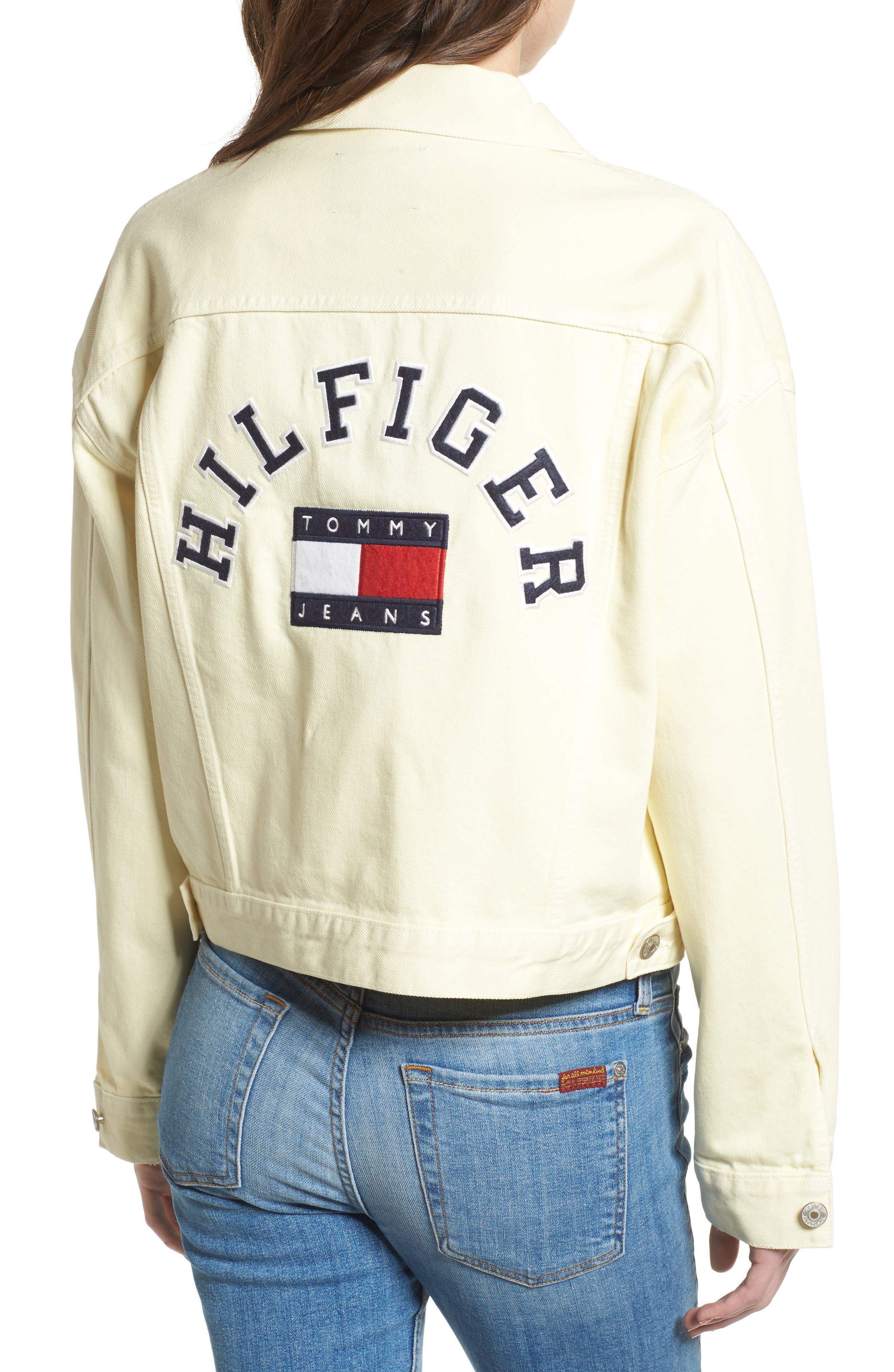 '90s Girlfriend Trucker Jacket,                             Alternate thumbnail 2, color,                             704