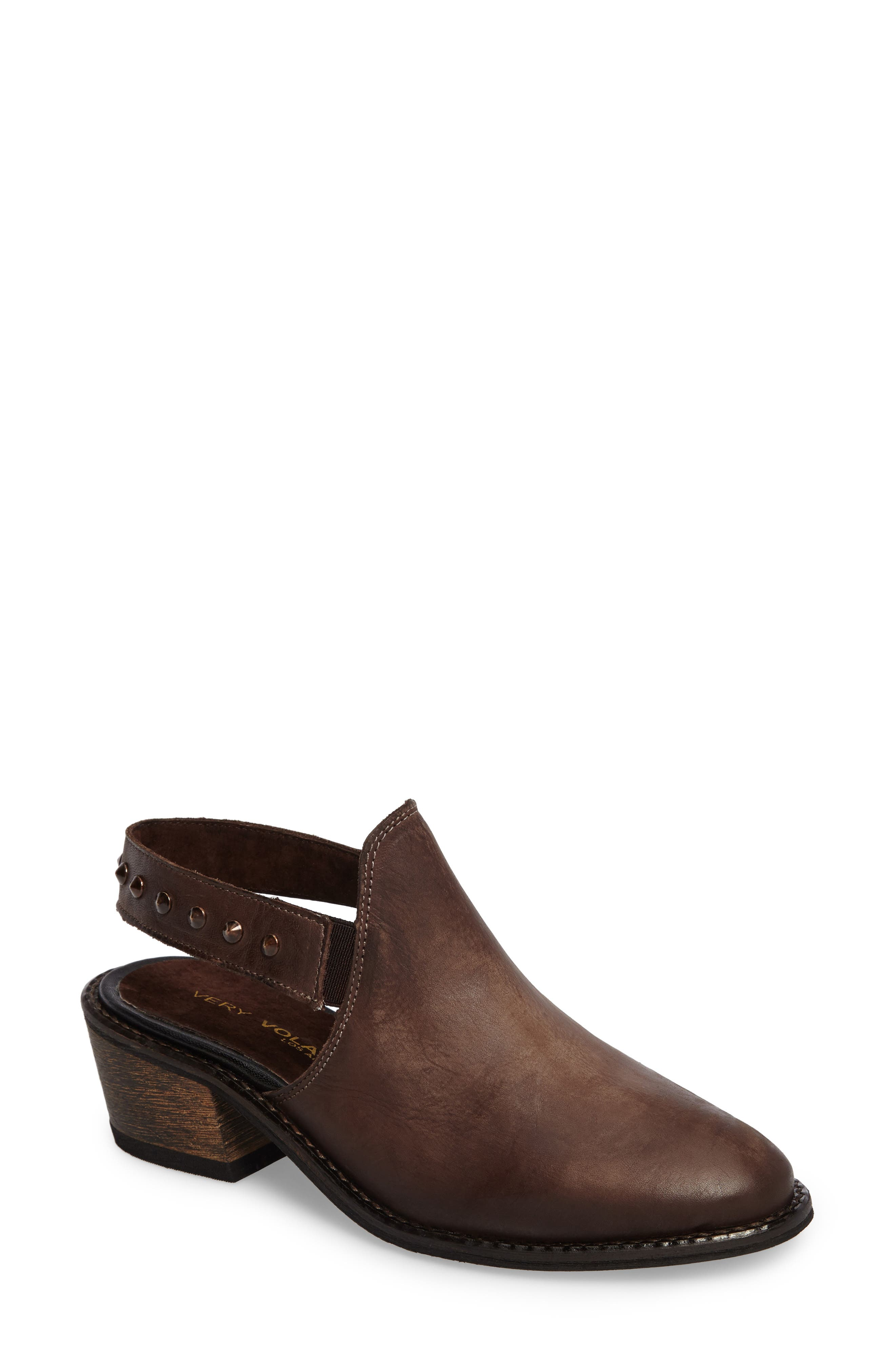 Adamo Studded Slingback Mule,                         Main,                         color,