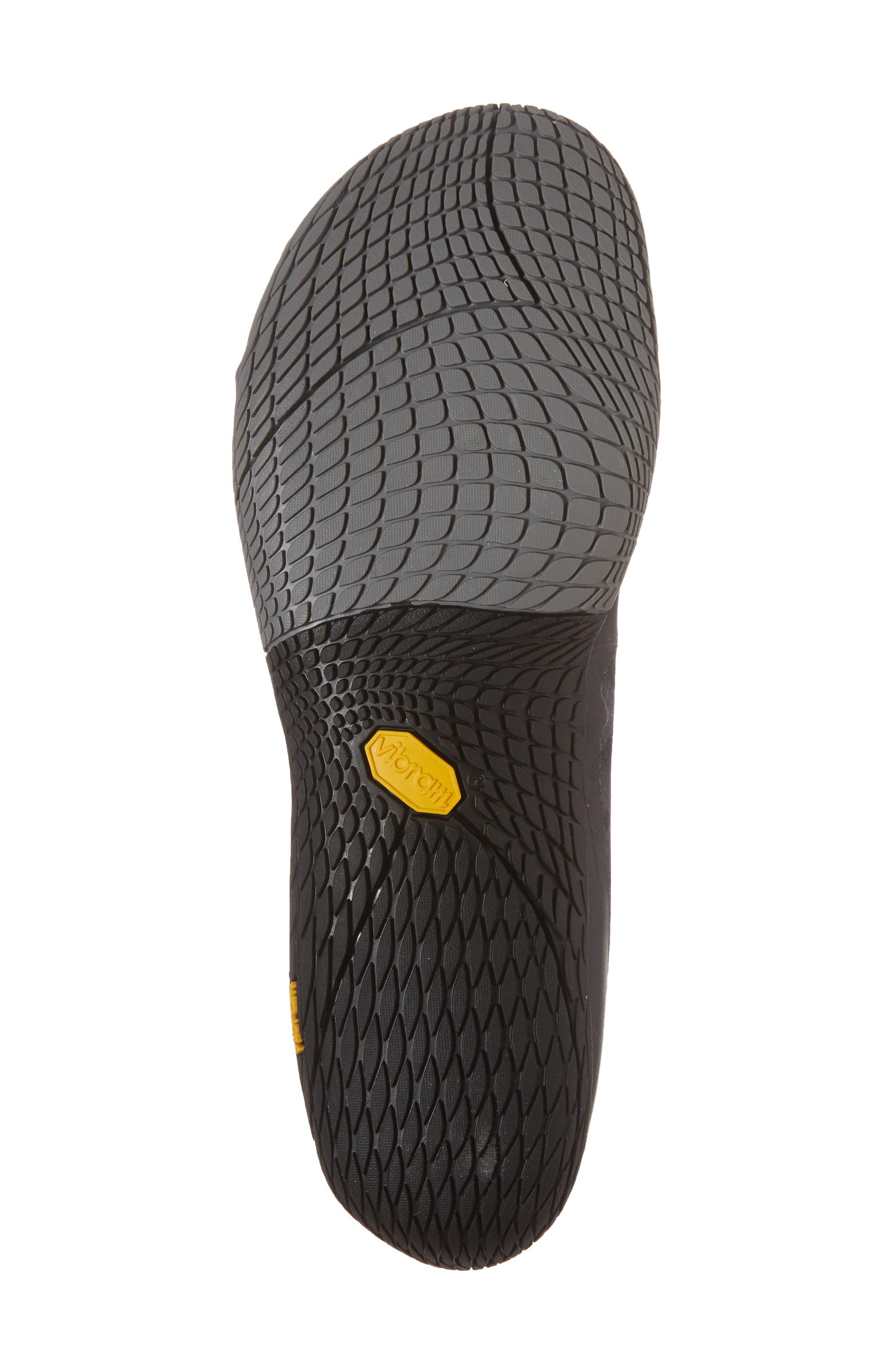 Vapor Glove 3 Trail Running Shoe,                             Alternate thumbnail 6, color,                             BLACK/ SILVER