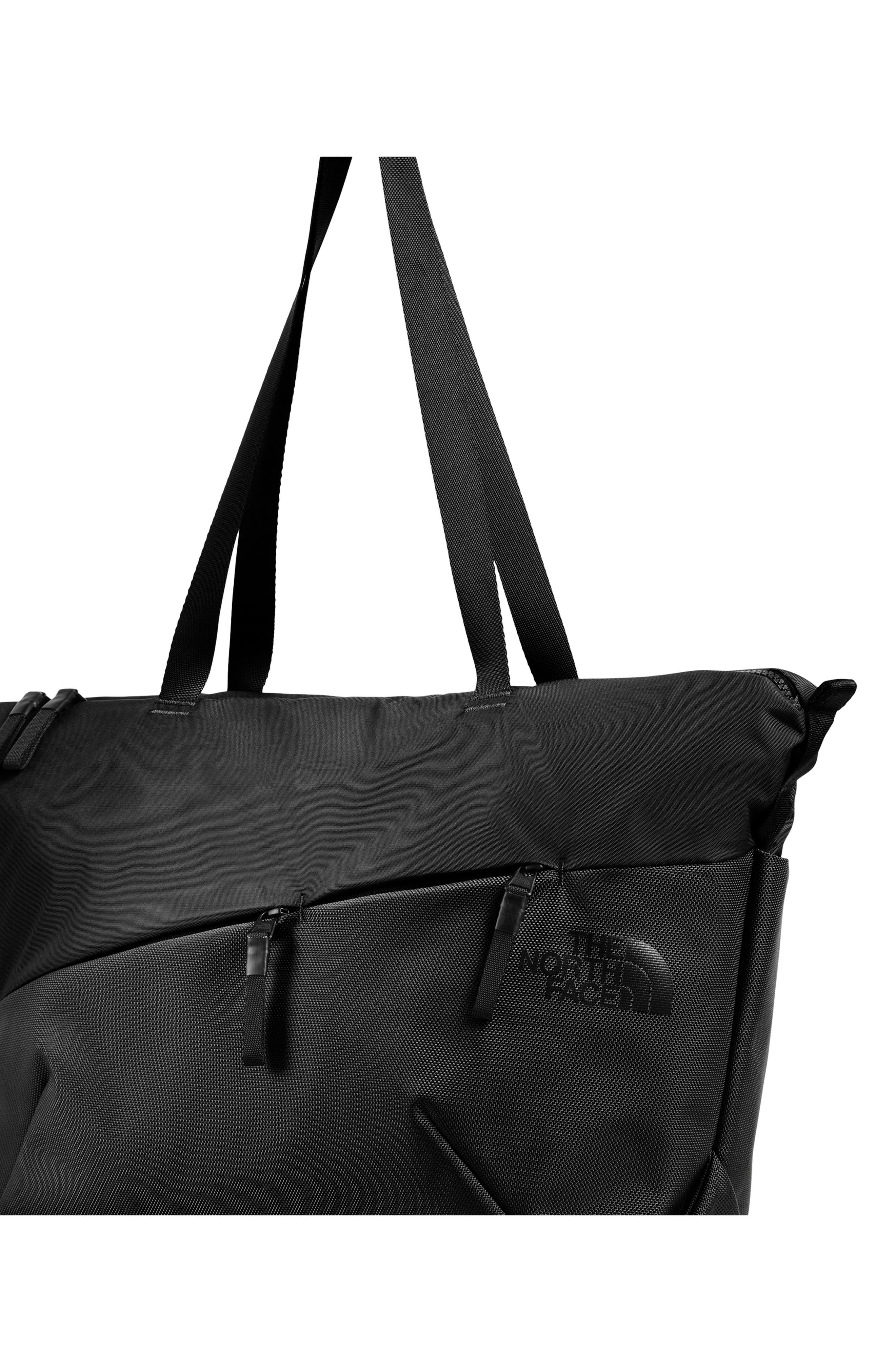 Electra Large Tote,                             Alternate thumbnail 3, color,                             TNF BLACK/ TNF BLACK