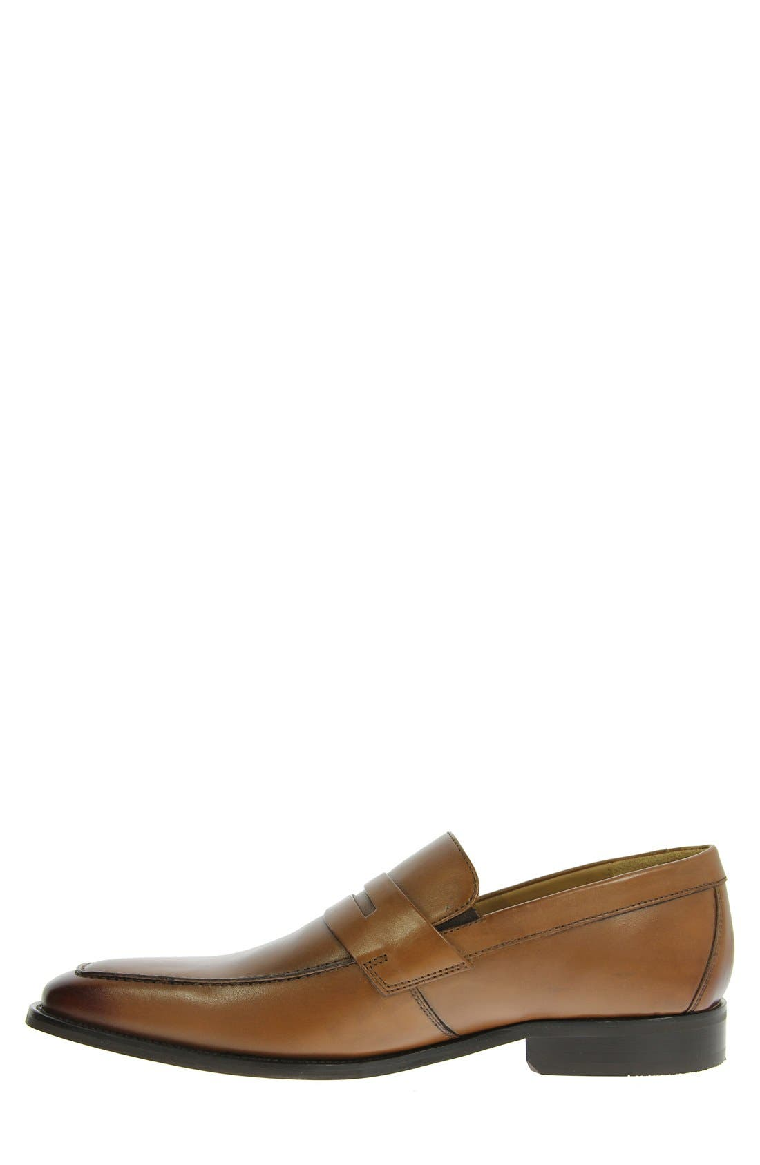 'Sabato' Penny Loafer,                             Alternate thumbnail 4, color,