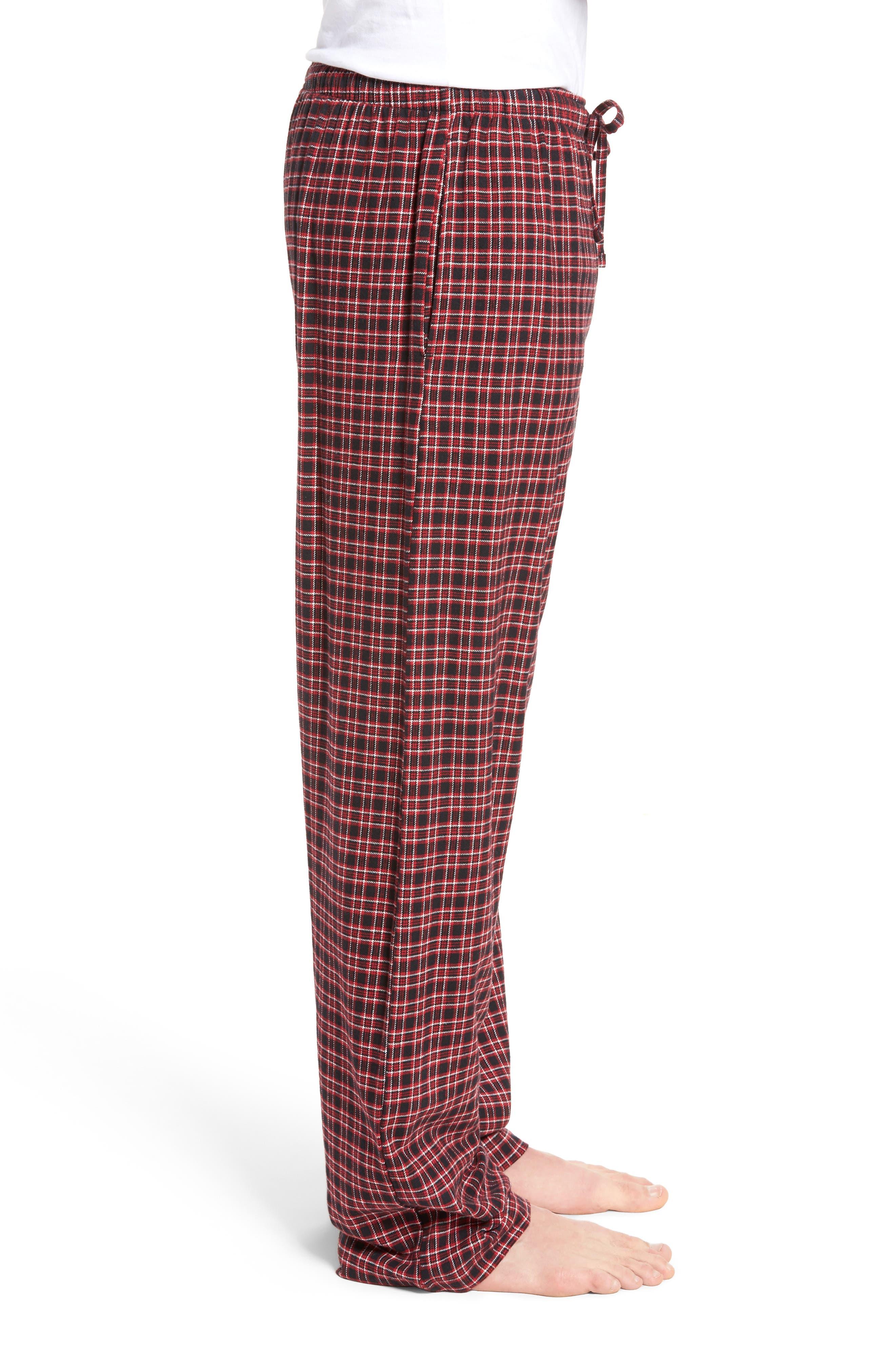 Flannel Pajama Pants,                             Alternate thumbnail 28, color,