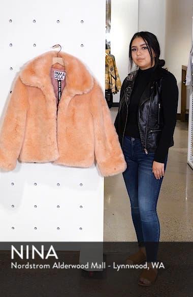 Boxy Faux Fur Coat, sales video thumbnail