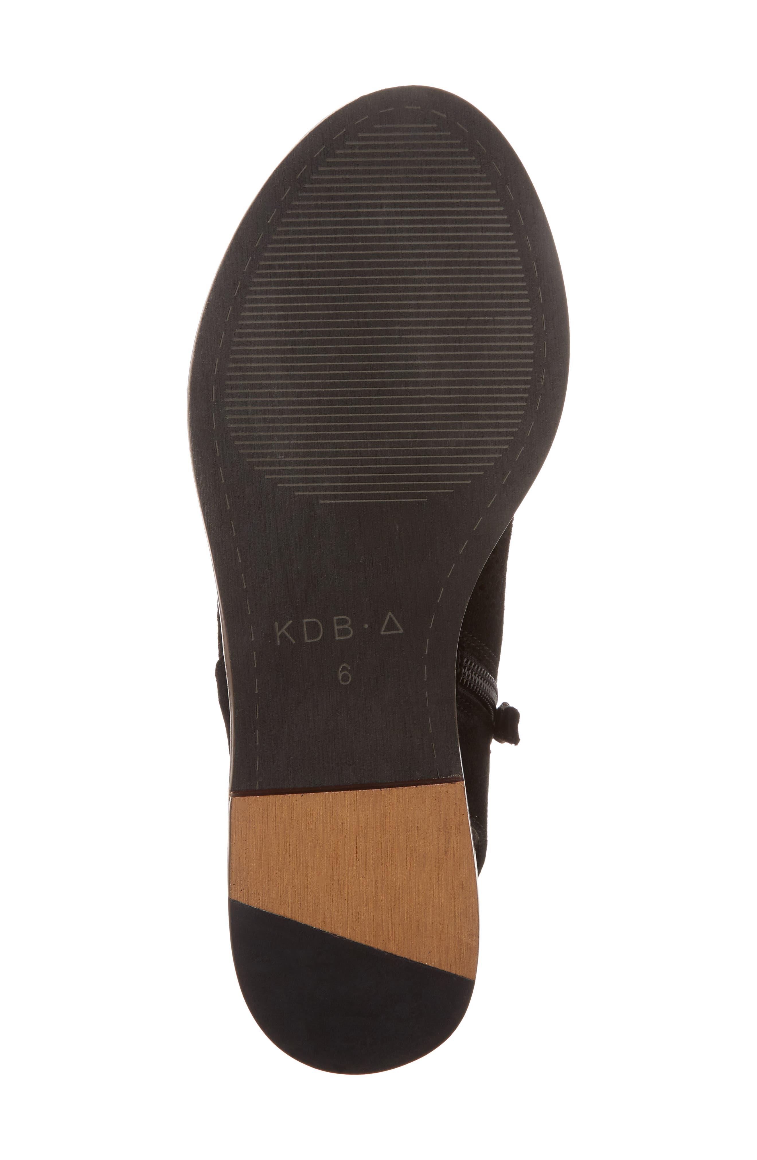 Seneca Perforated Sandal,                             Alternate thumbnail 6, color,                             001