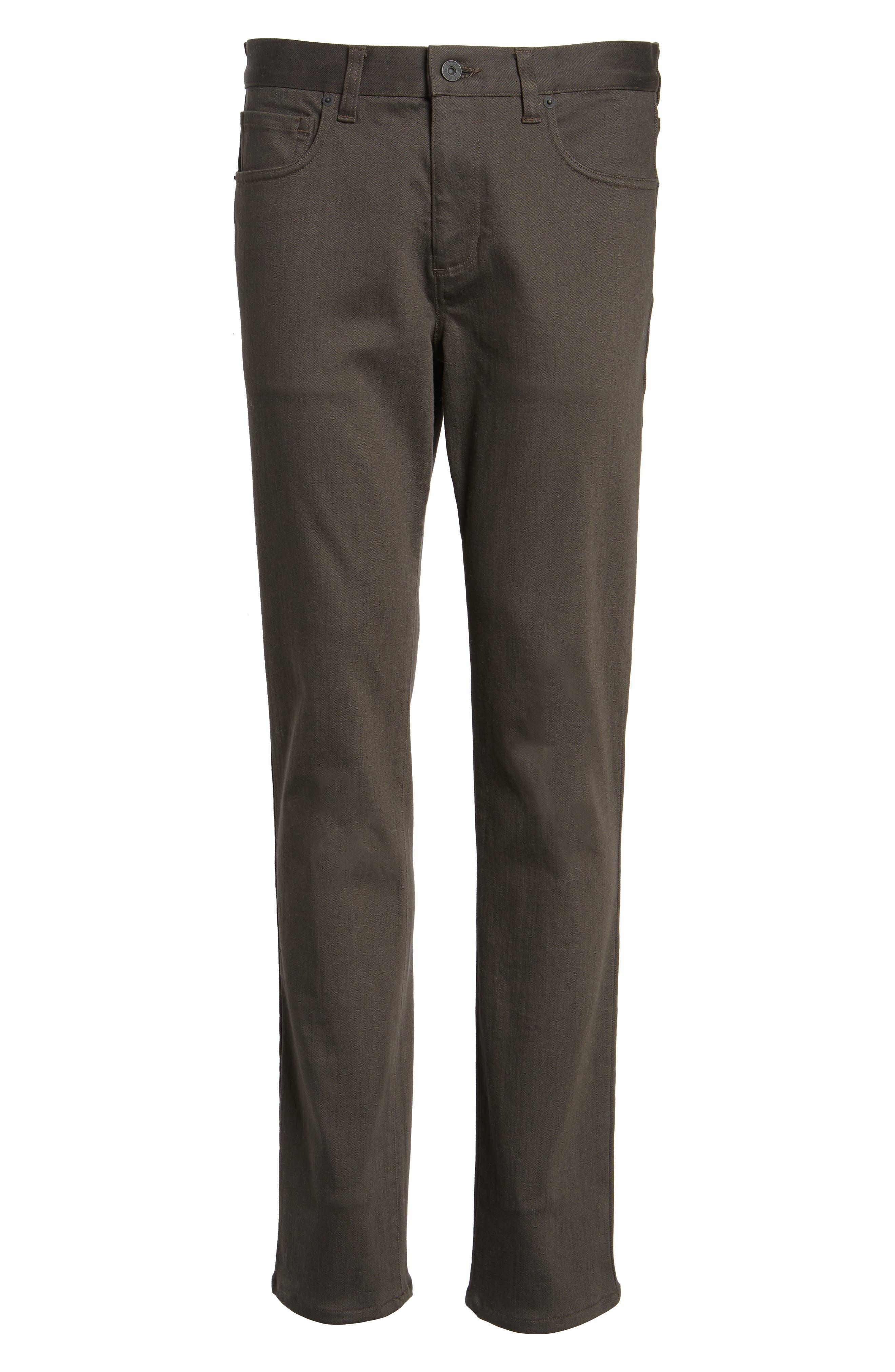 Stretch Twill 5-Pocket Pants,                             Alternate thumbnail 12, color,