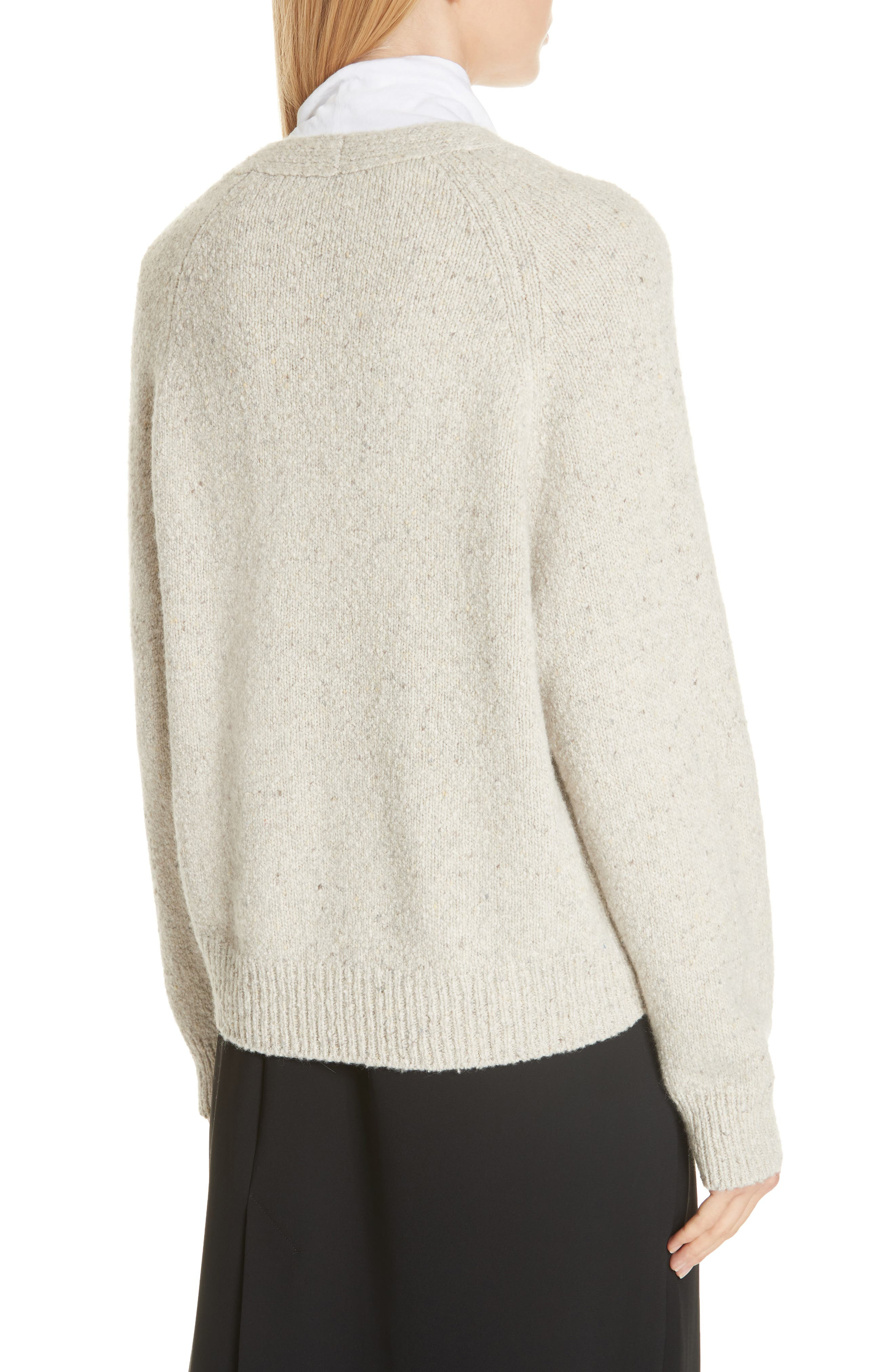 V-Neck Cashmere Sweater,                             Alternate thumbnail 2, color,                             902