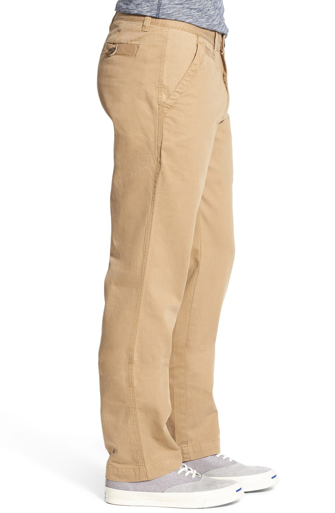 'Sahara' Trim Fit Vintage Washed Twill Chinos,                             Alternate thumbnail 21, color,