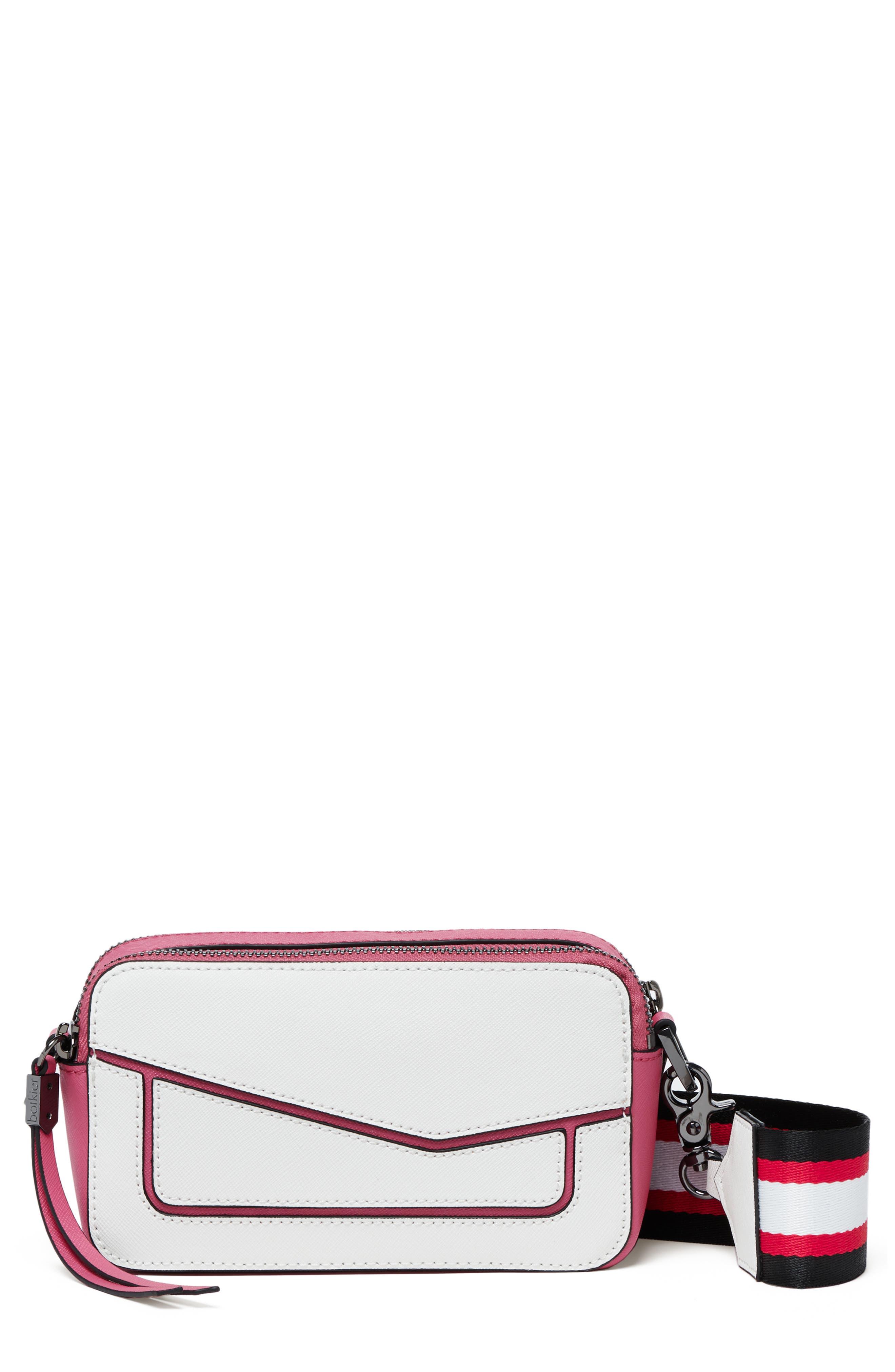 Cobble Hill Leather Convertible Camera Crossbody Bag, Main, color, MARSHMALLOW