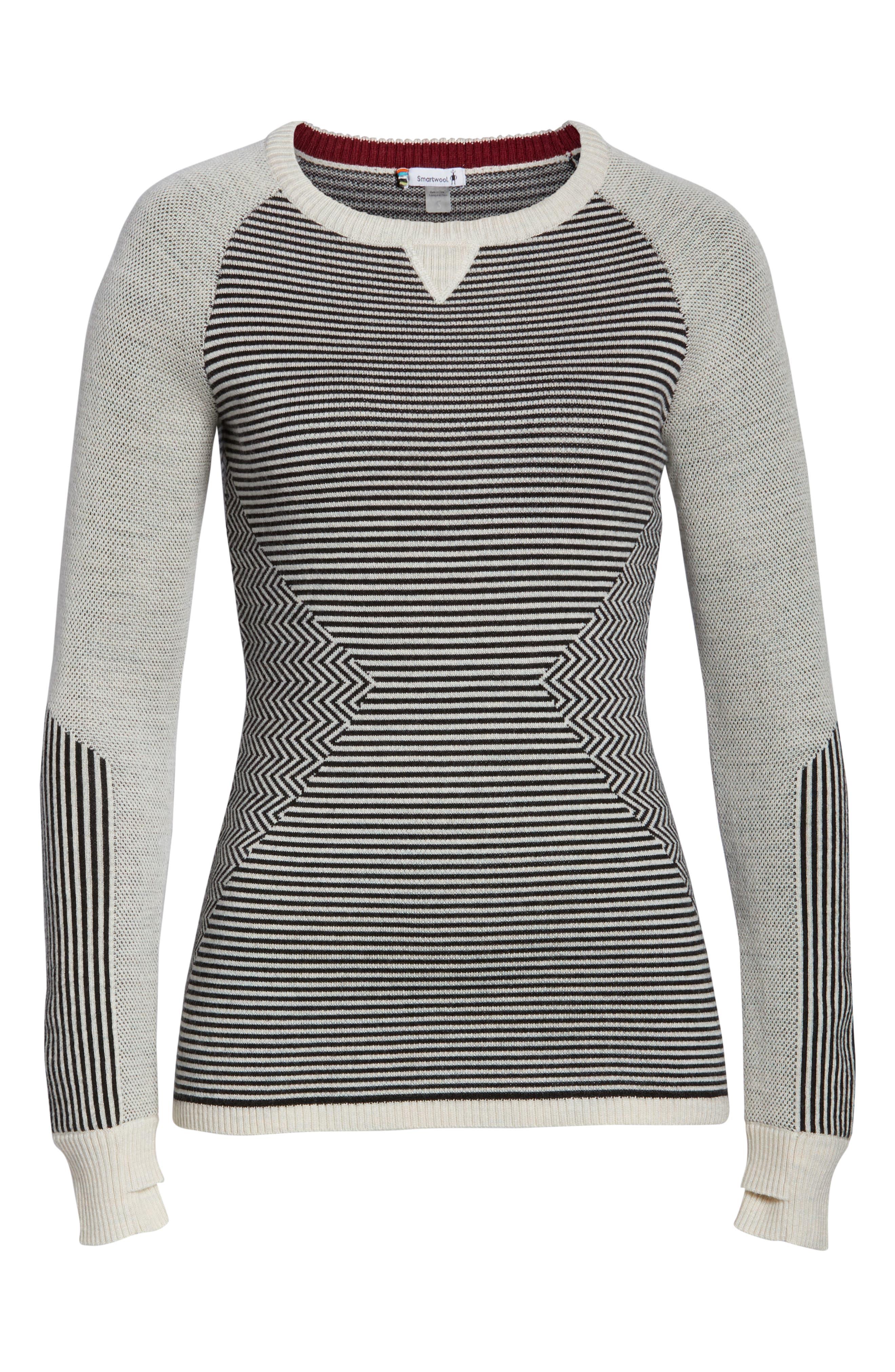 Dacono Ski Sweater,                             Alternate thumbnail 7, color,                             001