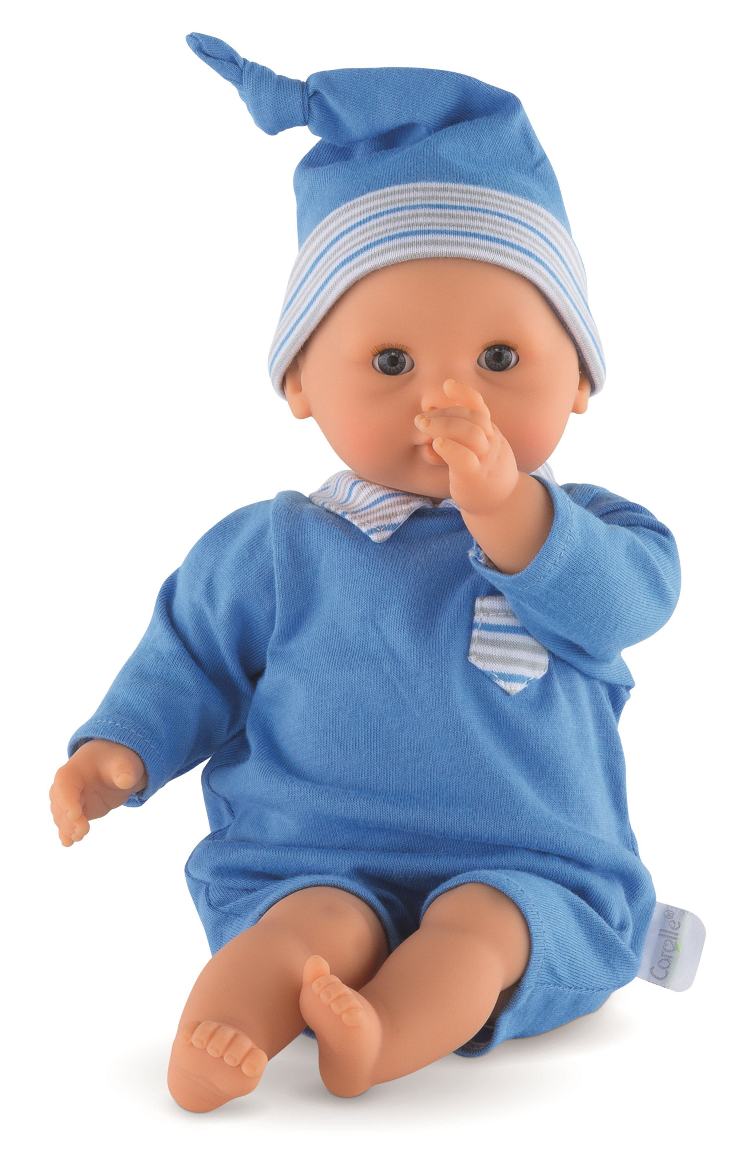 Toddler Boys Corolle Calin Boy Blue Baby Doll