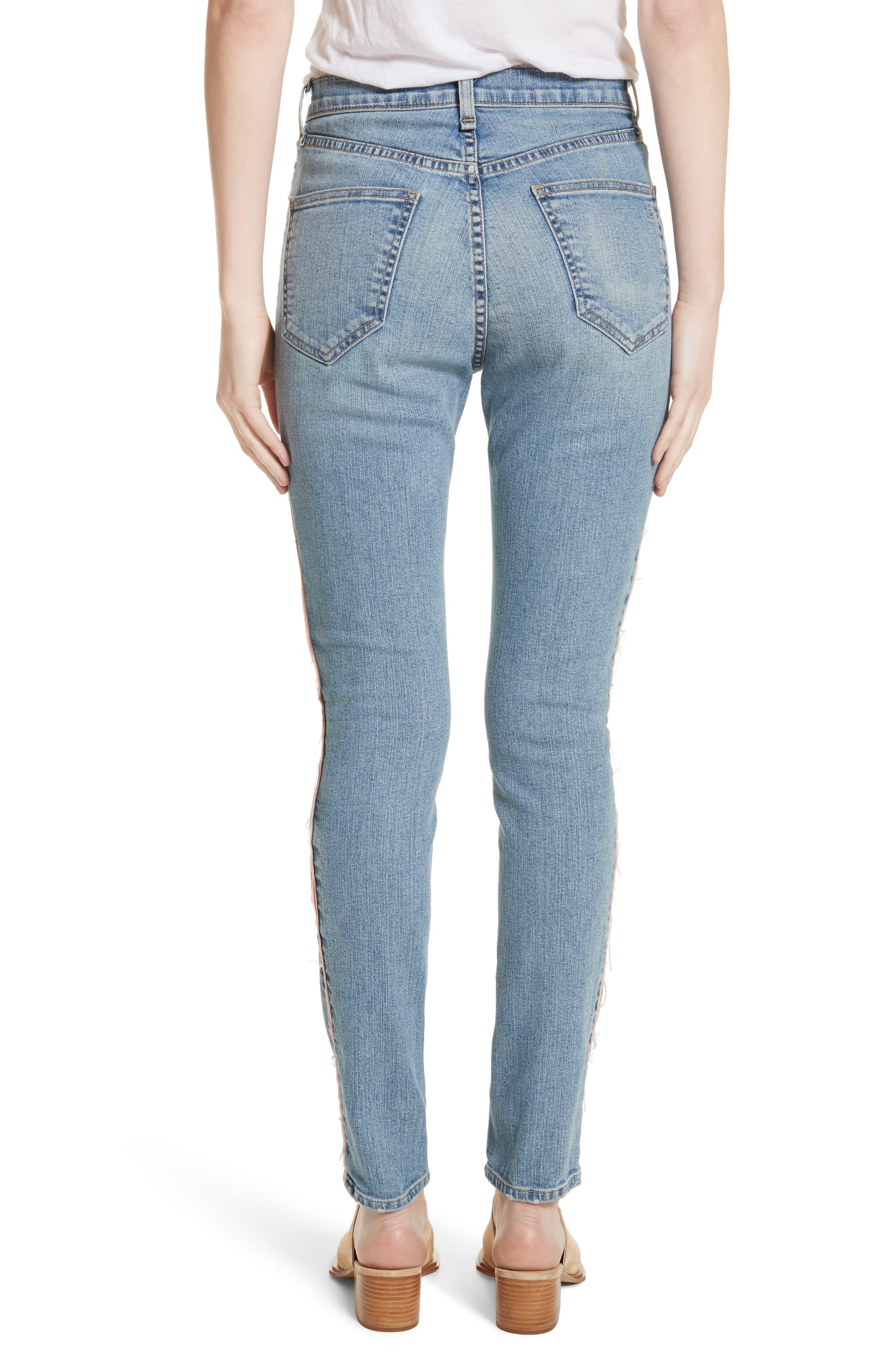 RAG & BONE,                             JEAN Skinny Jeans,                             Alternate thumbnail 2, color,                             422